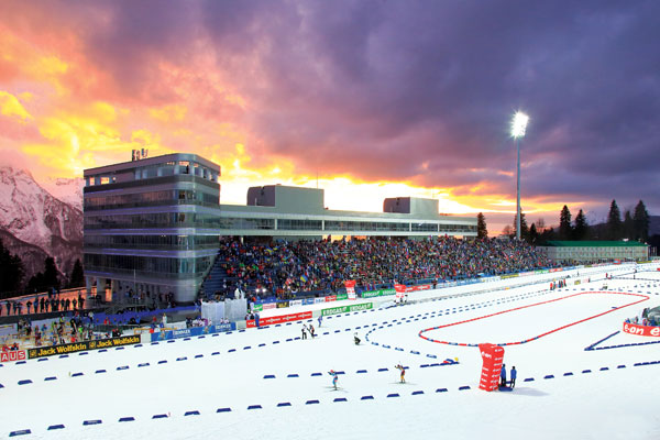 The Unique Snow Conditions Combined With Specialised Tracks Will Make This Permanent Facility A Popular Venue For World Class Competitions 12km