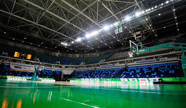 Rio 2016 Basketball Venue Unveiled Olympic News