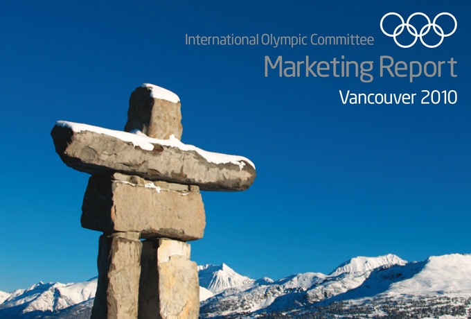 Marketing report Vancouver 2010