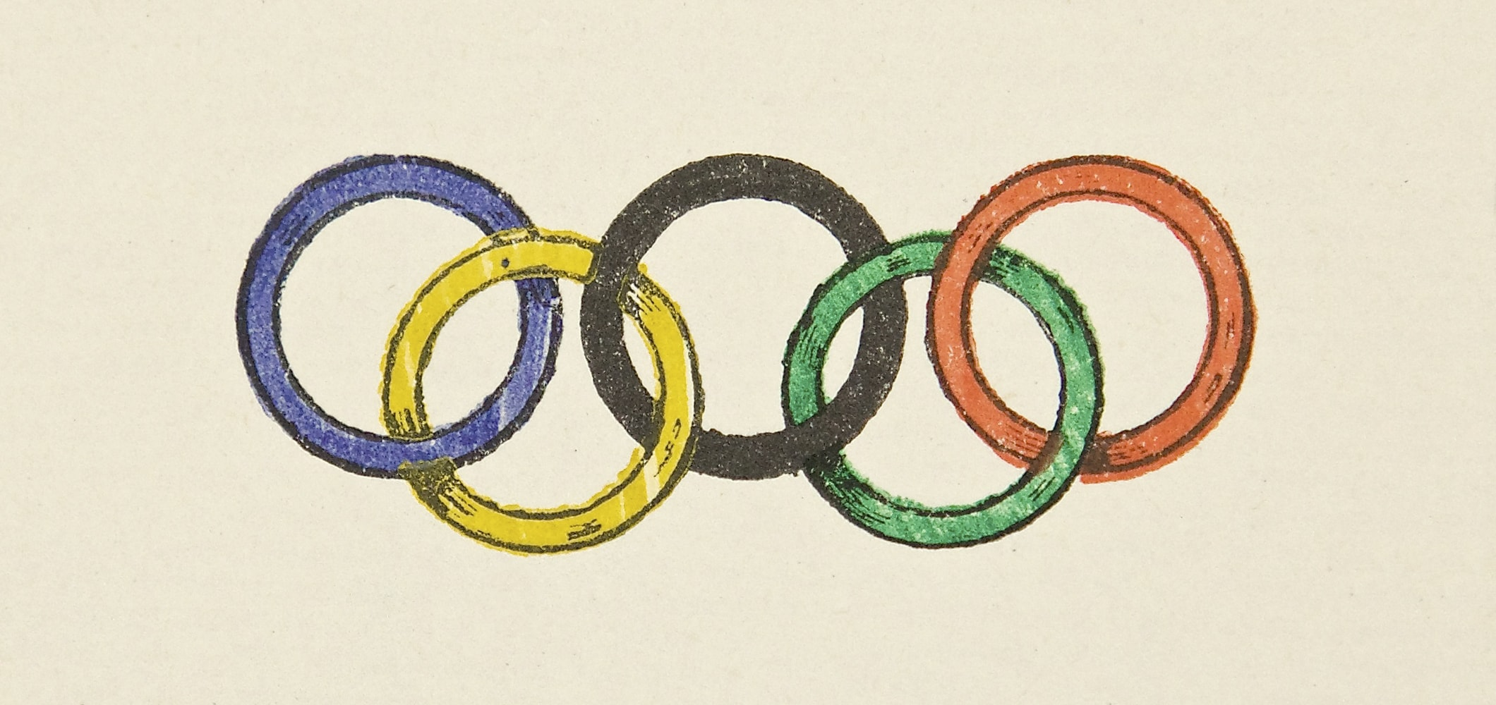The Olympic Rings - 1913