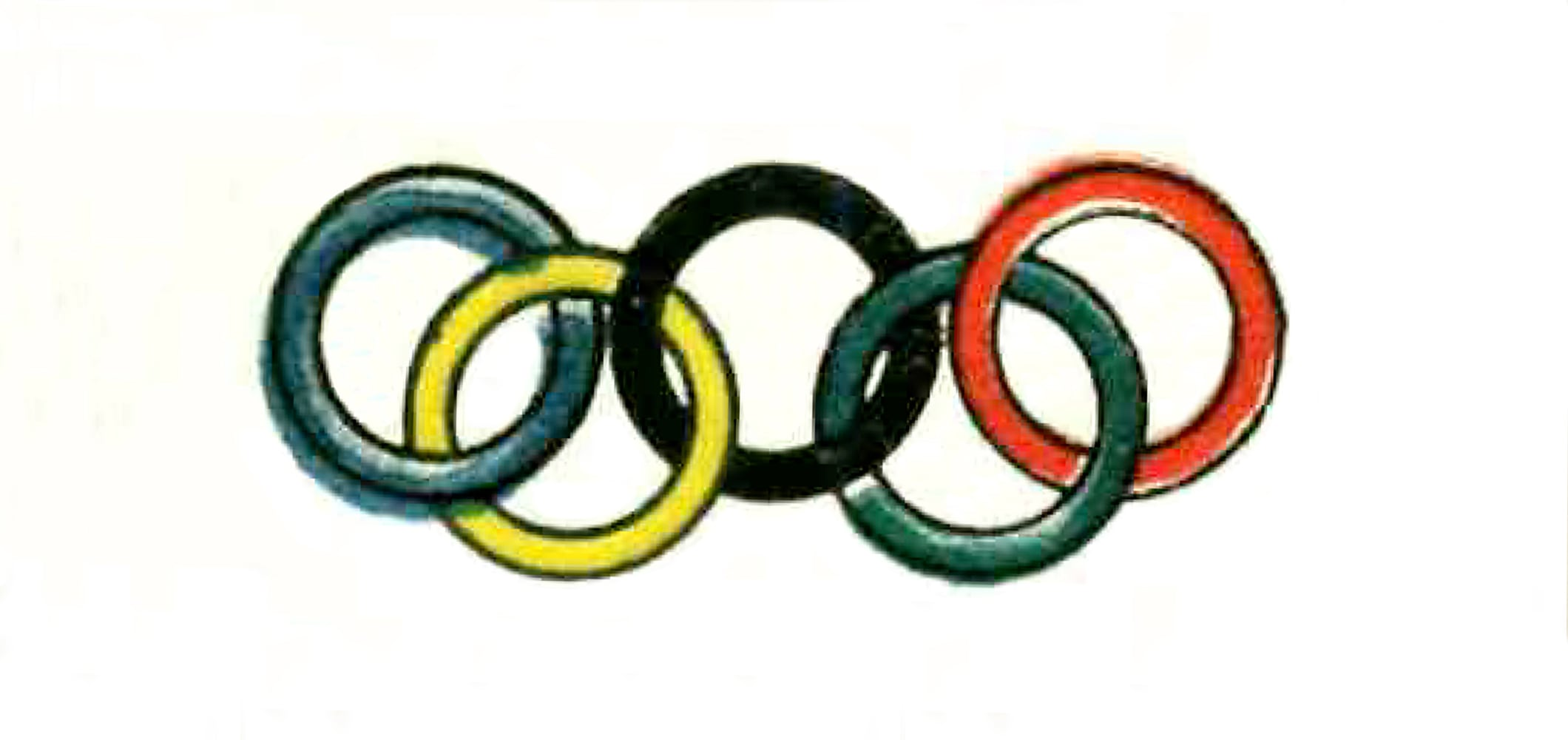 The Olympic Rings - 1921