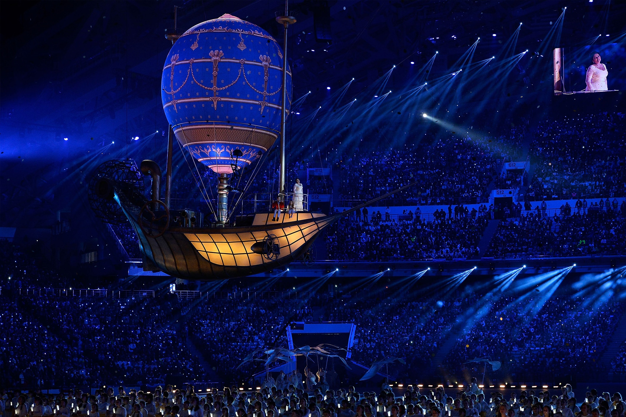 Closing Ceremony at Sochi 2014