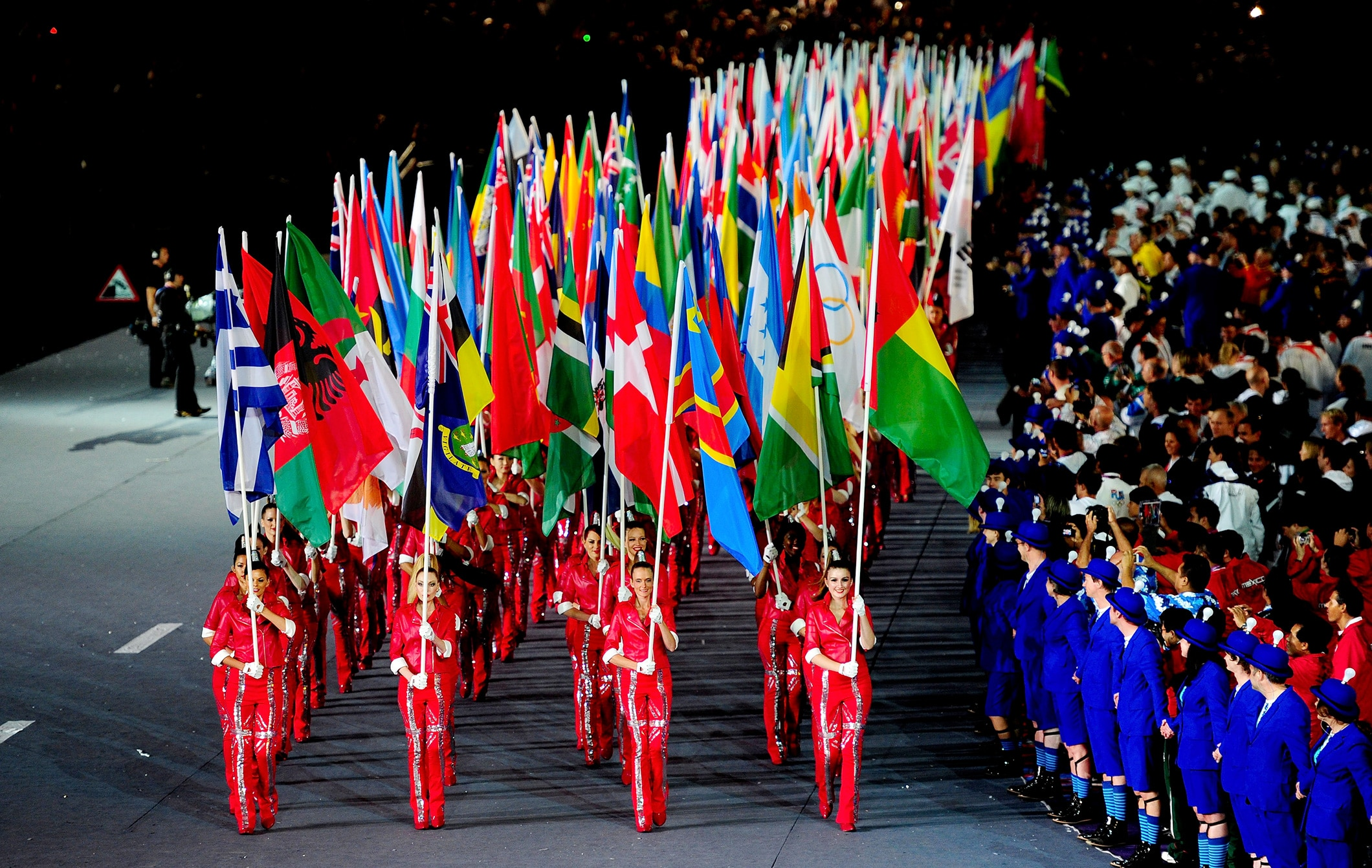 Flags of countries - London 2012
