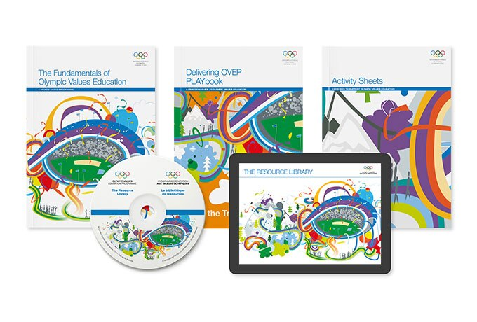 The Olympic Values Education Programme consists of extensive, free education resource materials.