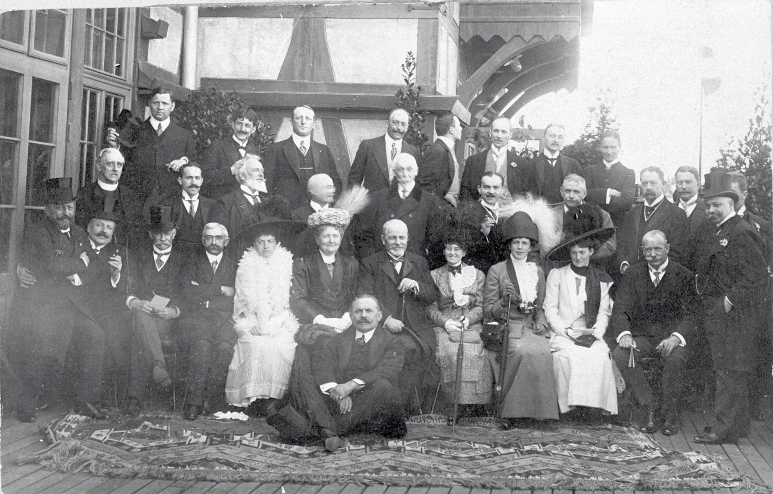 14th IOC Session, Budapest, 1911 - The IOC Members.