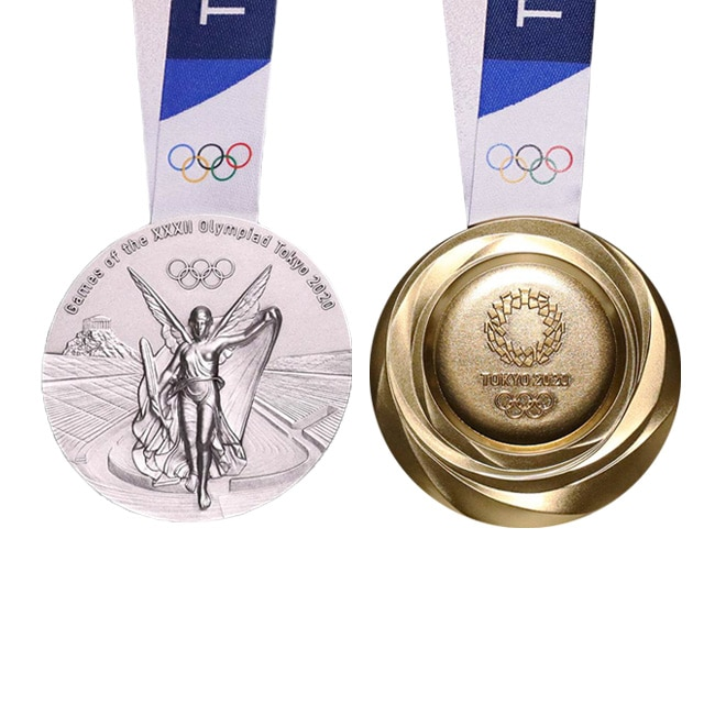 Winter Olympics 2020 Medals.Olympic Medals History Design Photos