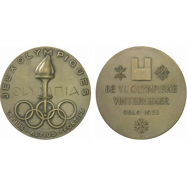 Oslo 1952 Medals