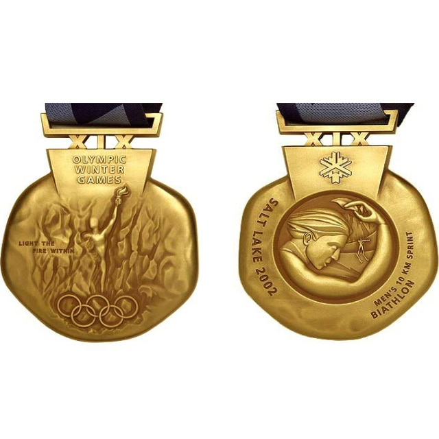 Salt Lake City 2002 Medals