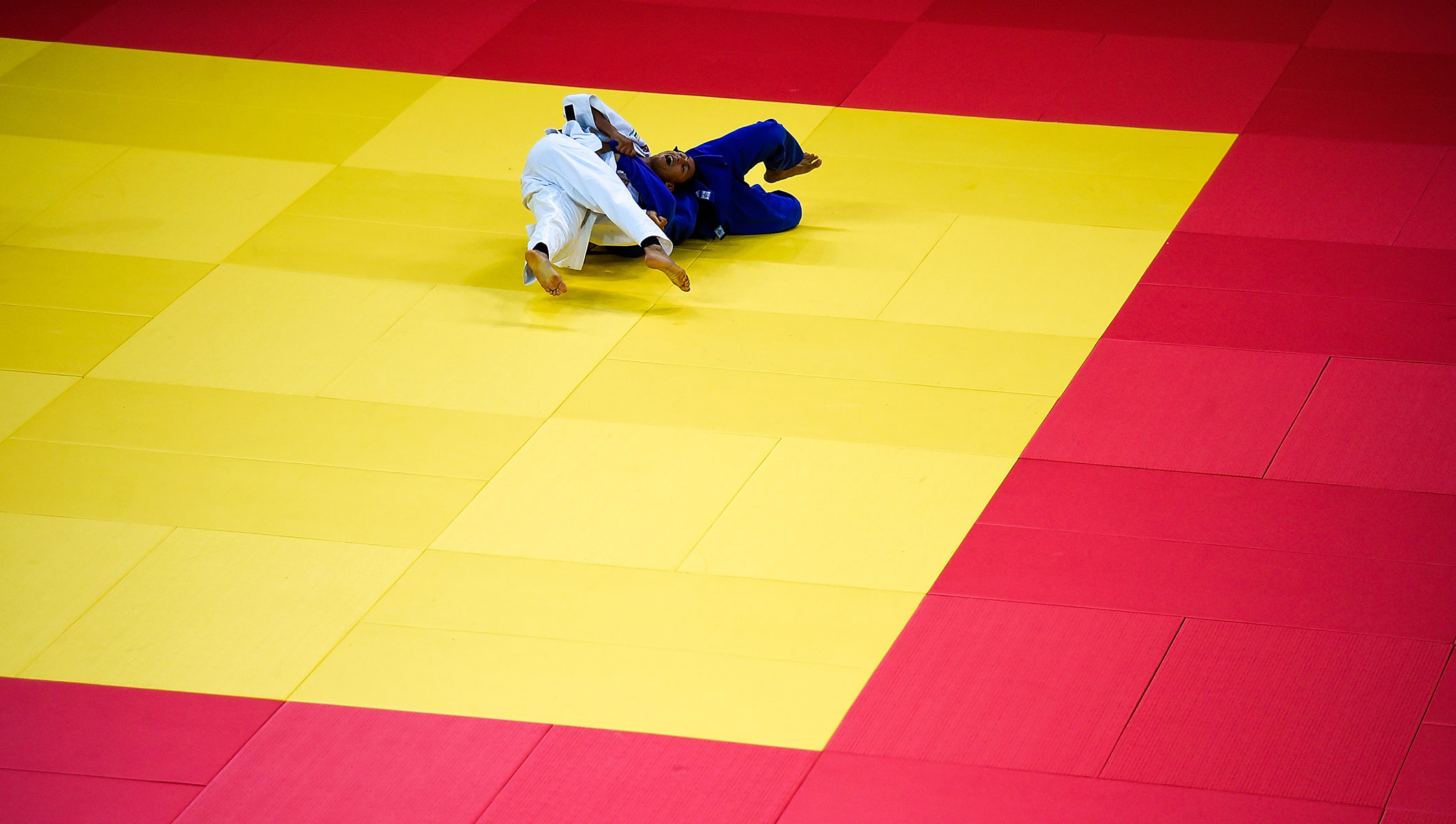 Aquece Rio - Judo - Dojo general view
