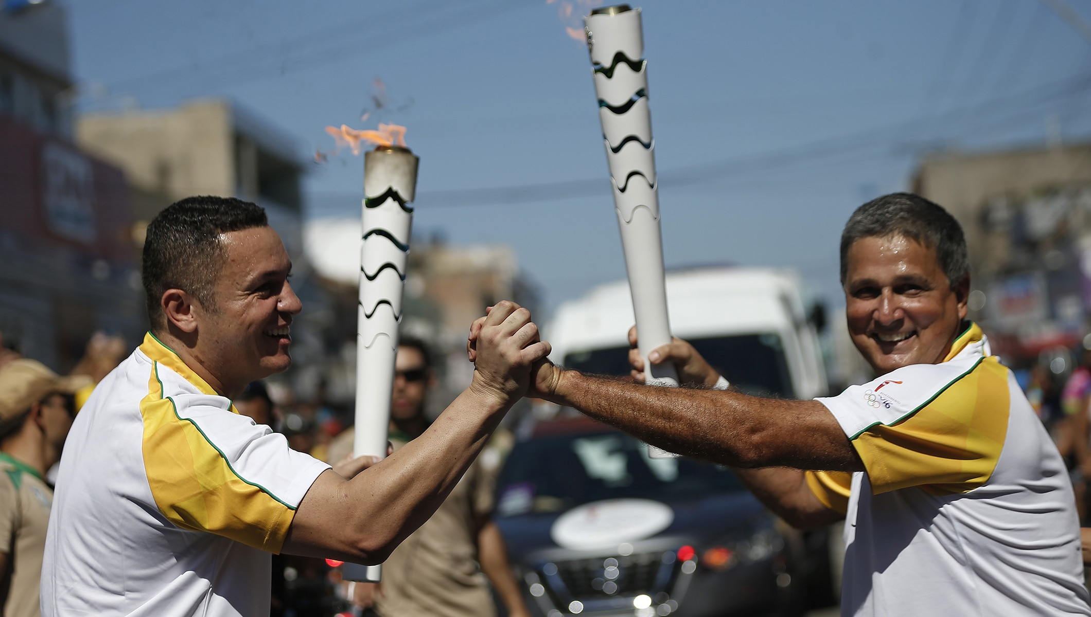 RIO 2016 OLYMPIC TORCH RELAY – DAY 15