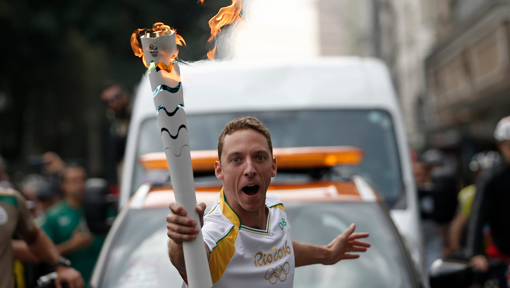 Rio 2016 Olympic Torch Relay - Day 73