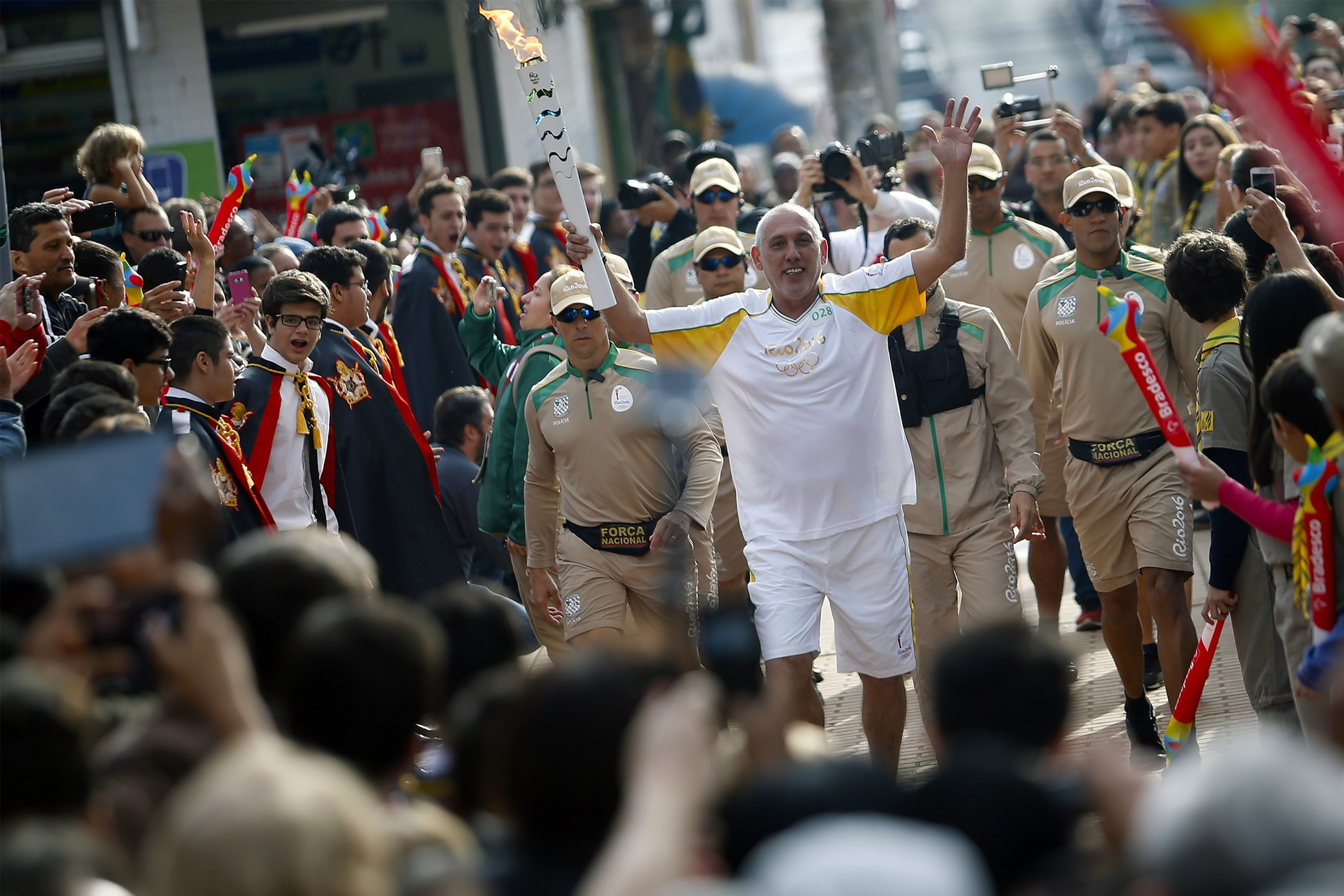 Rio 2016 Olympic Torch Relay - Day 78