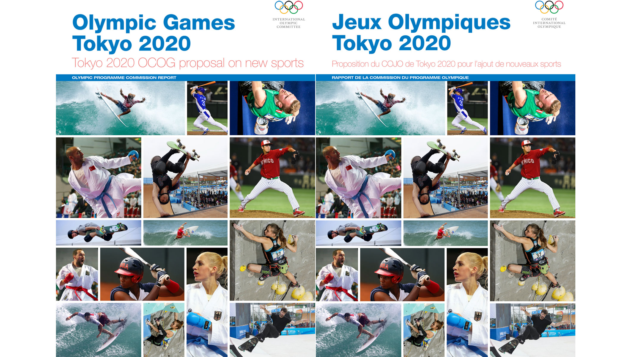 IOC Releases Olympic Programme Commission Report on Proposed Sports