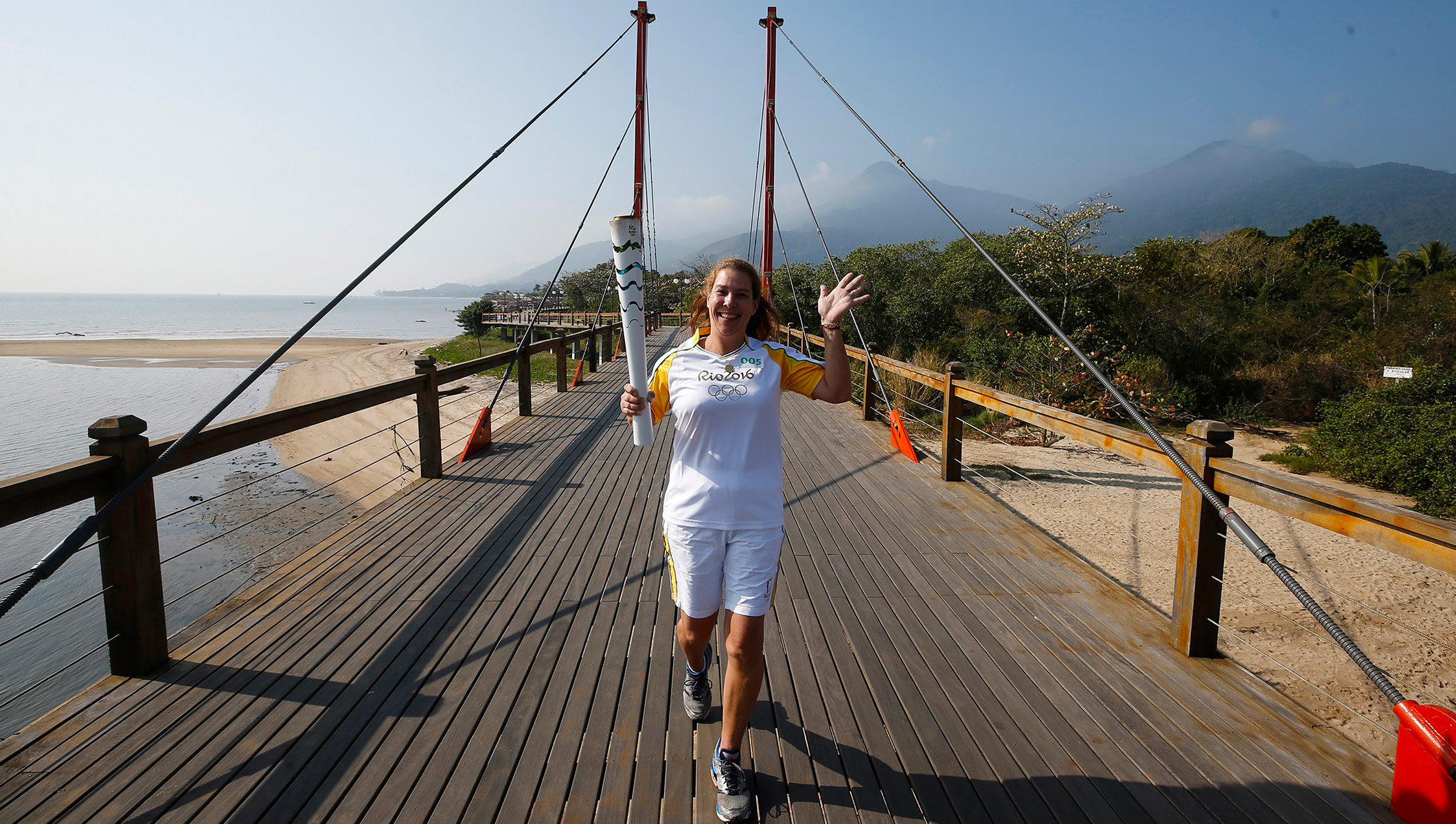 Rio 2016 Olympic Torch Relay - Day 84