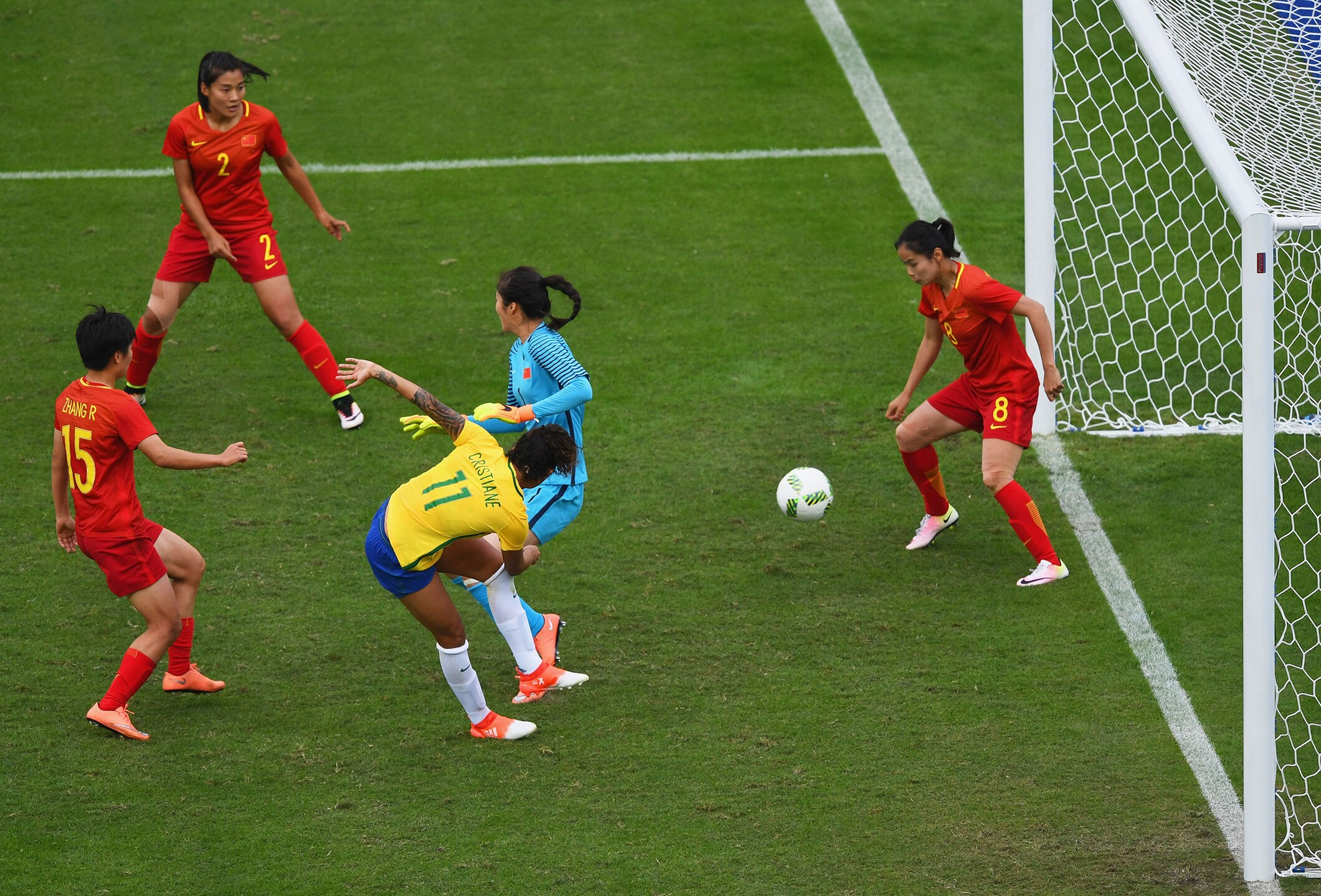 Football Women - Brazil vs Peoples' Republic of China