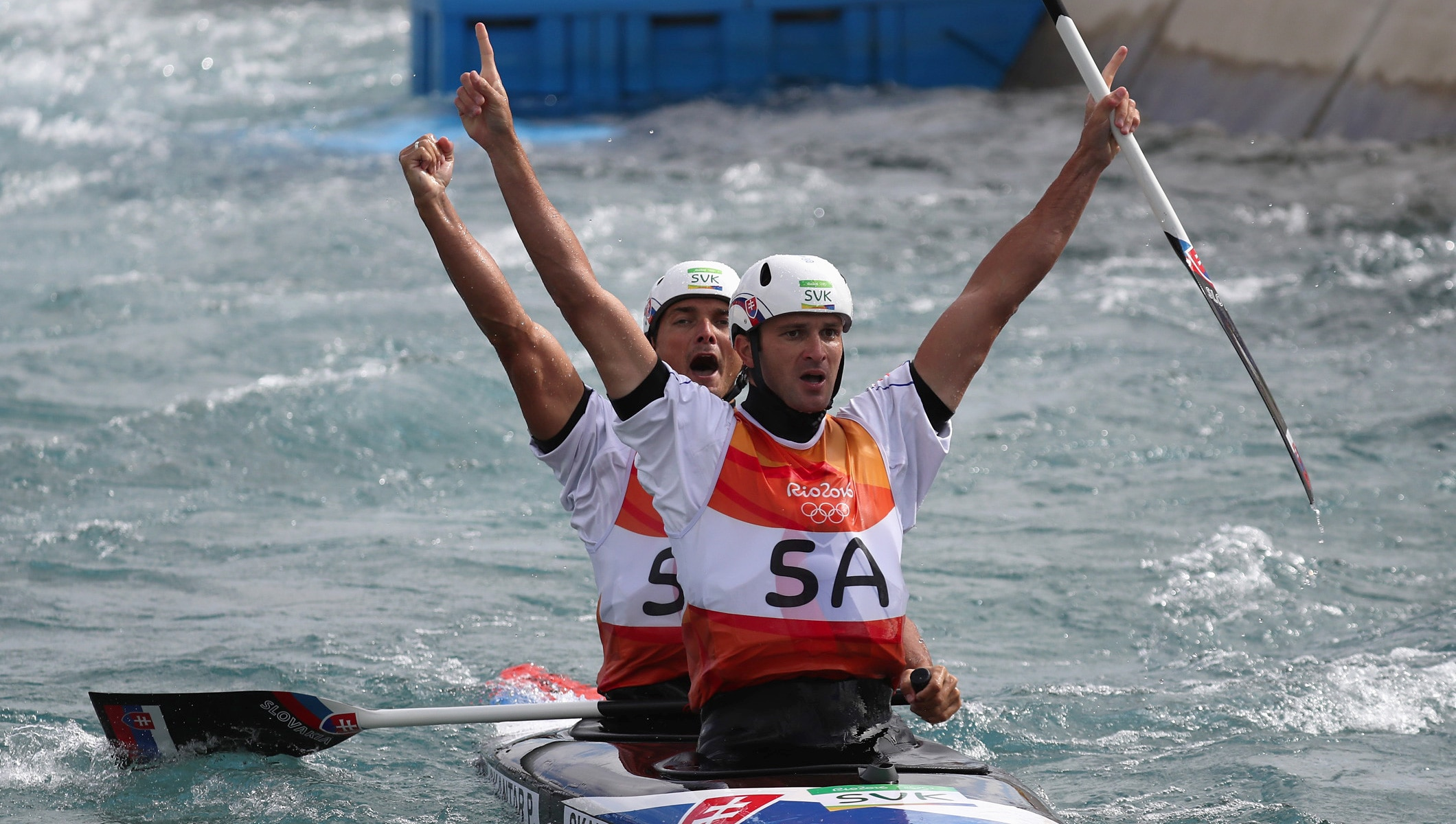 Success For Slovakias Skantar Brothers And Spains Chourraut At The Whitewater Arena