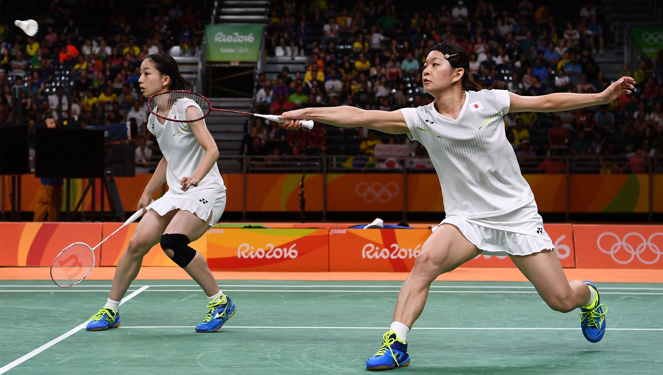 Doubles delight for Japanese duo in badminton Olympic News