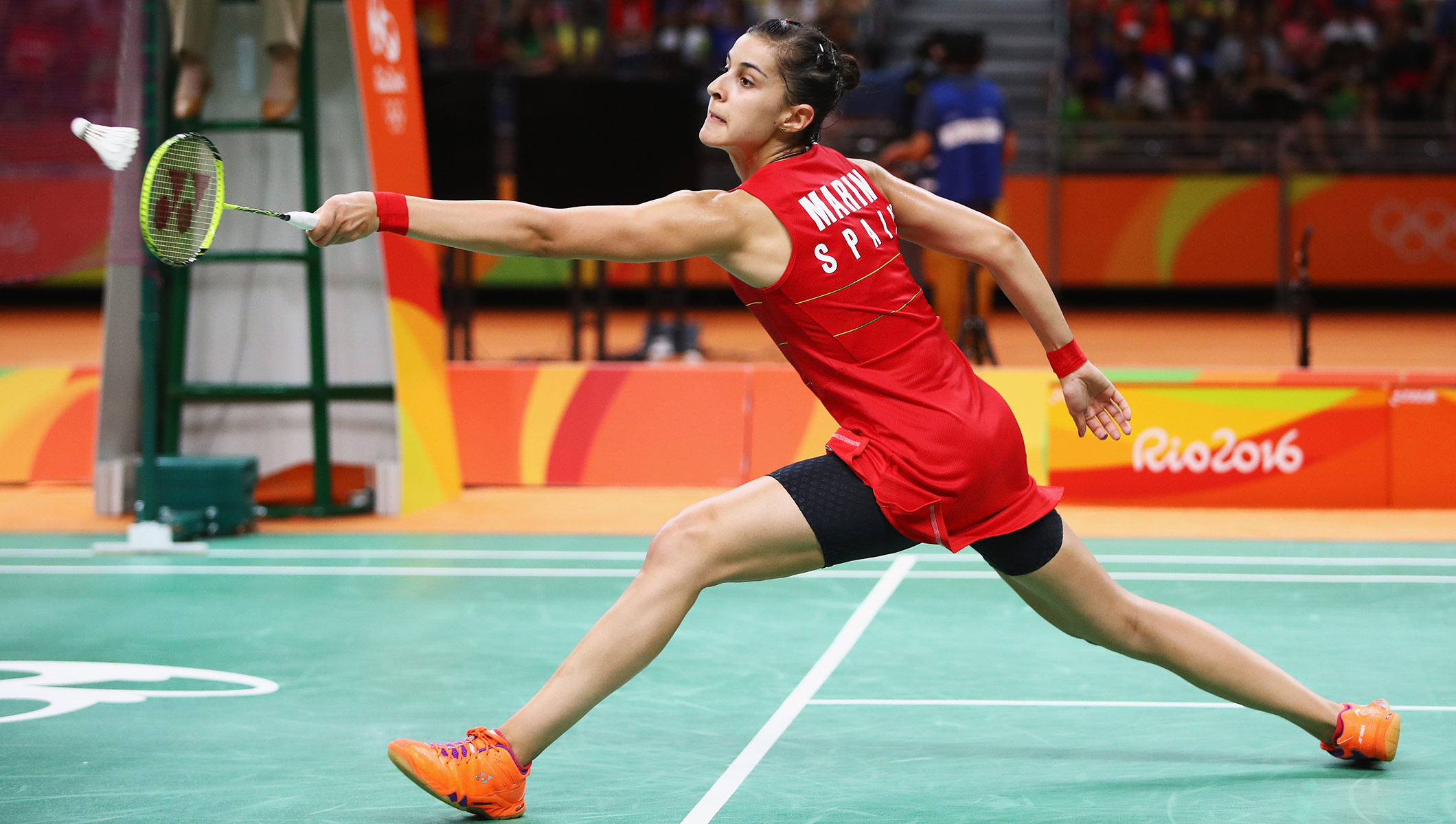 Carolina Mar­n The YOG athlete who became Olympic badminton