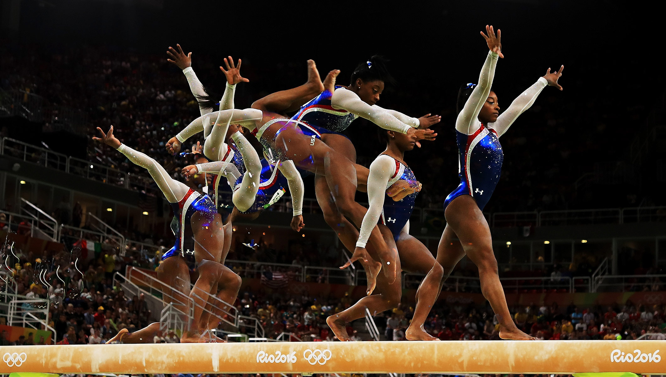 simone biles creates artistic gymnastics history in rio - olympic news