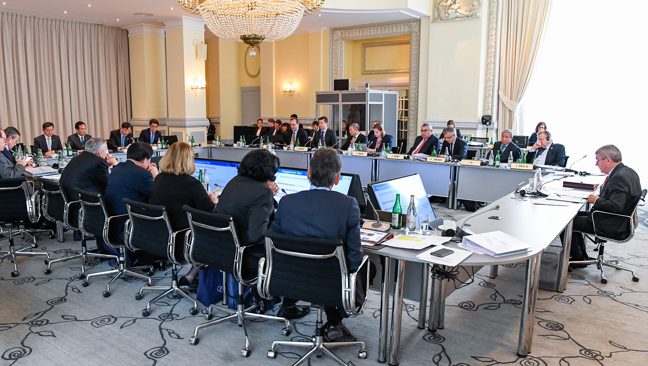 IOC Executive Board Meeting Lausanne 7.12.2016