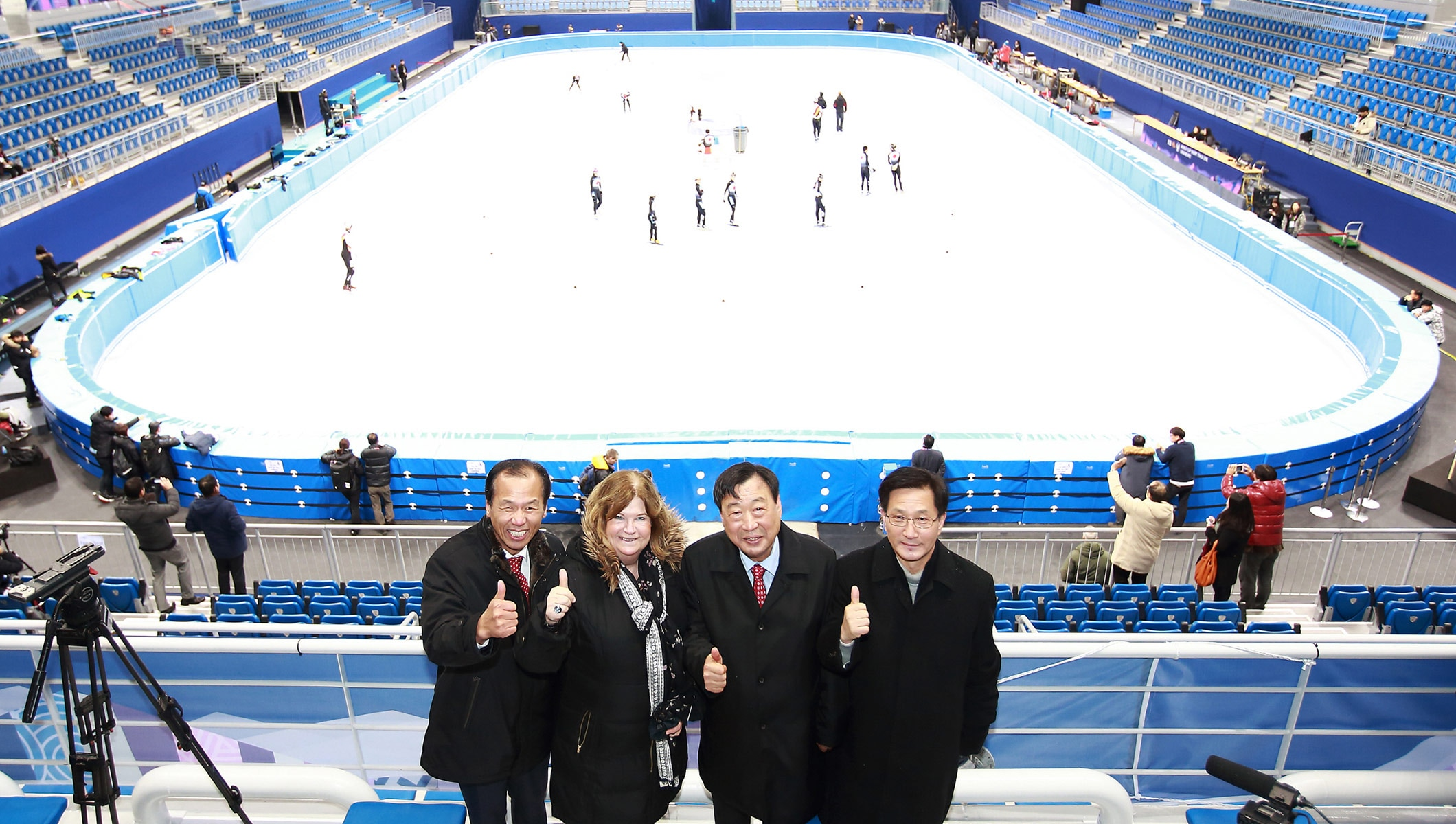 First ice sport Olympic venue for PyeongChang 2018 completed