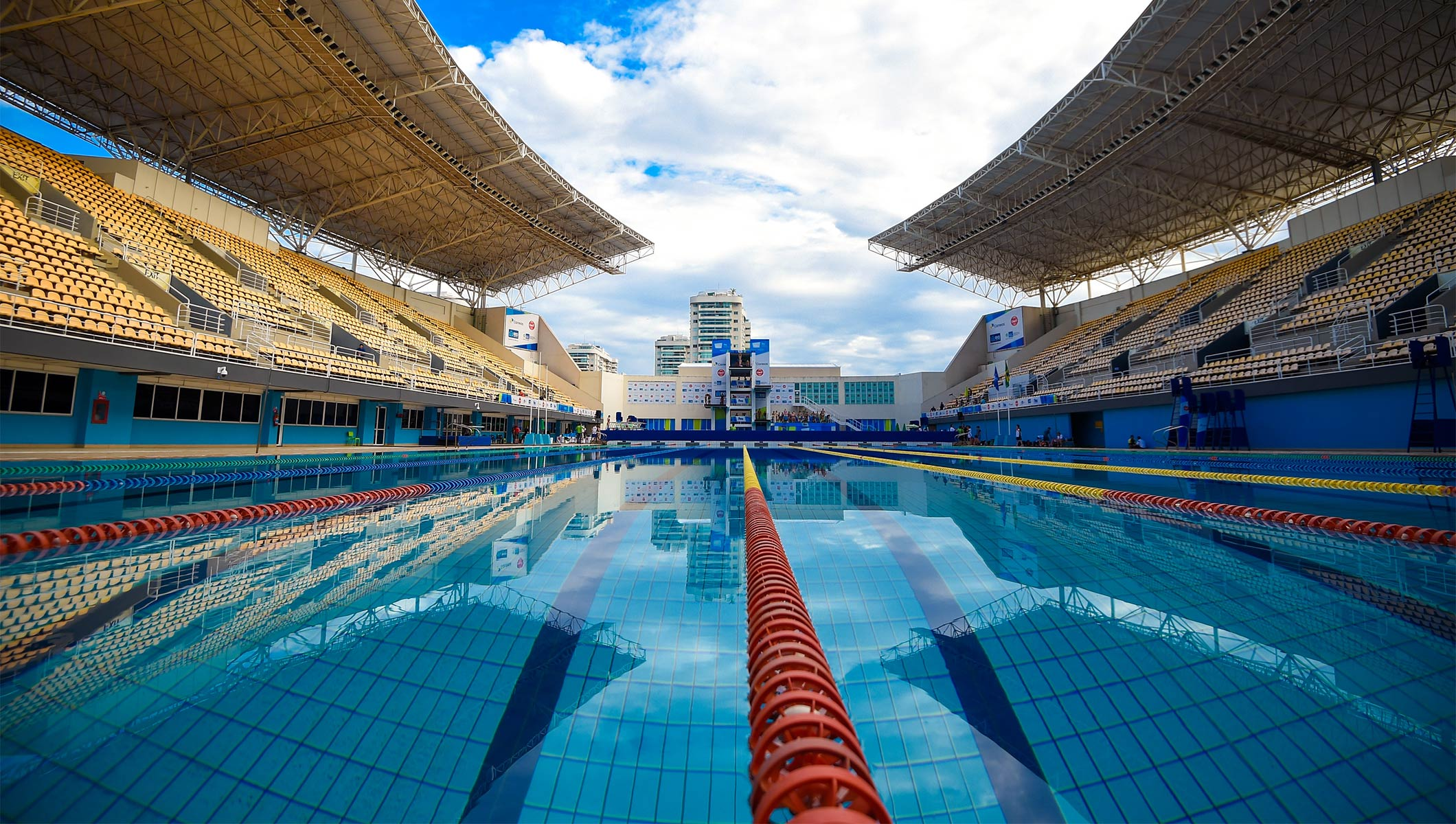 Olympian ana marcela praises quality of rio 2016 pool olympic news for Beijing swimming pool olympics