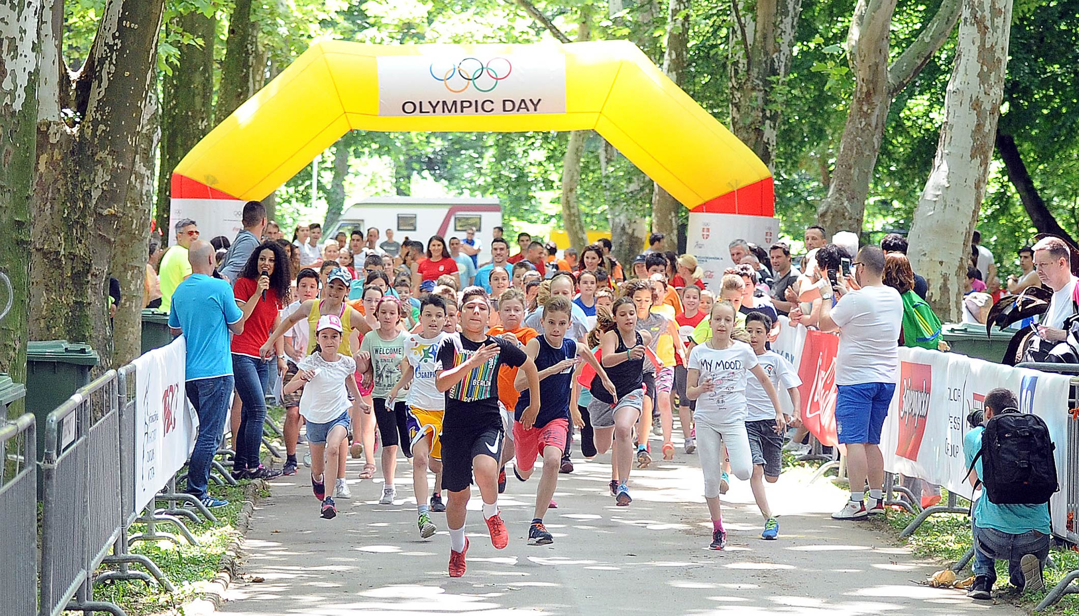 World is abuzz with activities as millions get active on Olympic Day