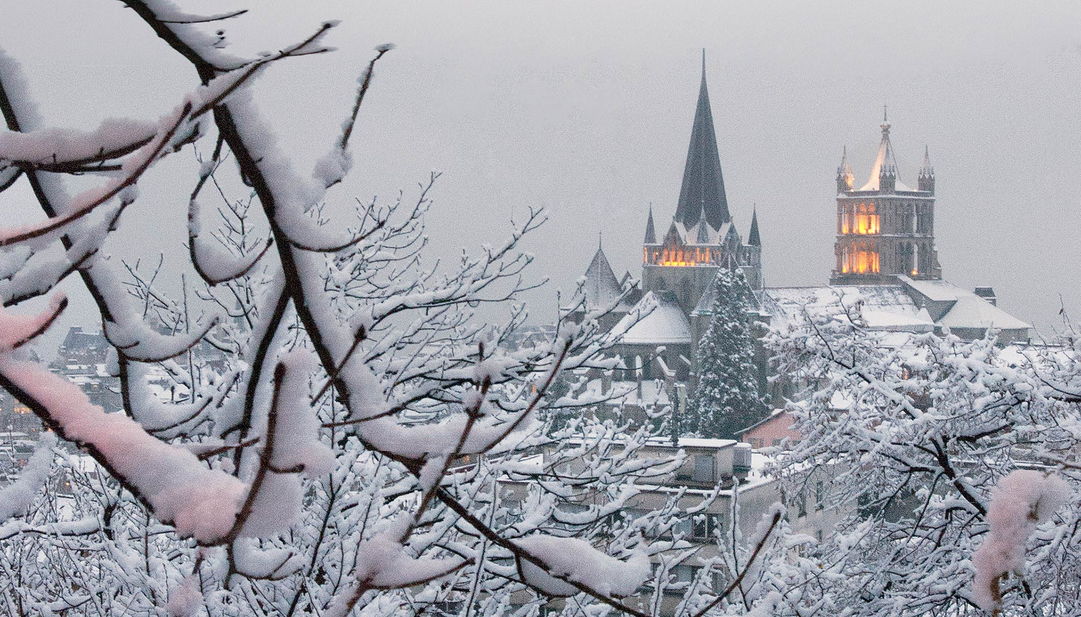 Lausanne 2020 Youth Olympic Games - City view