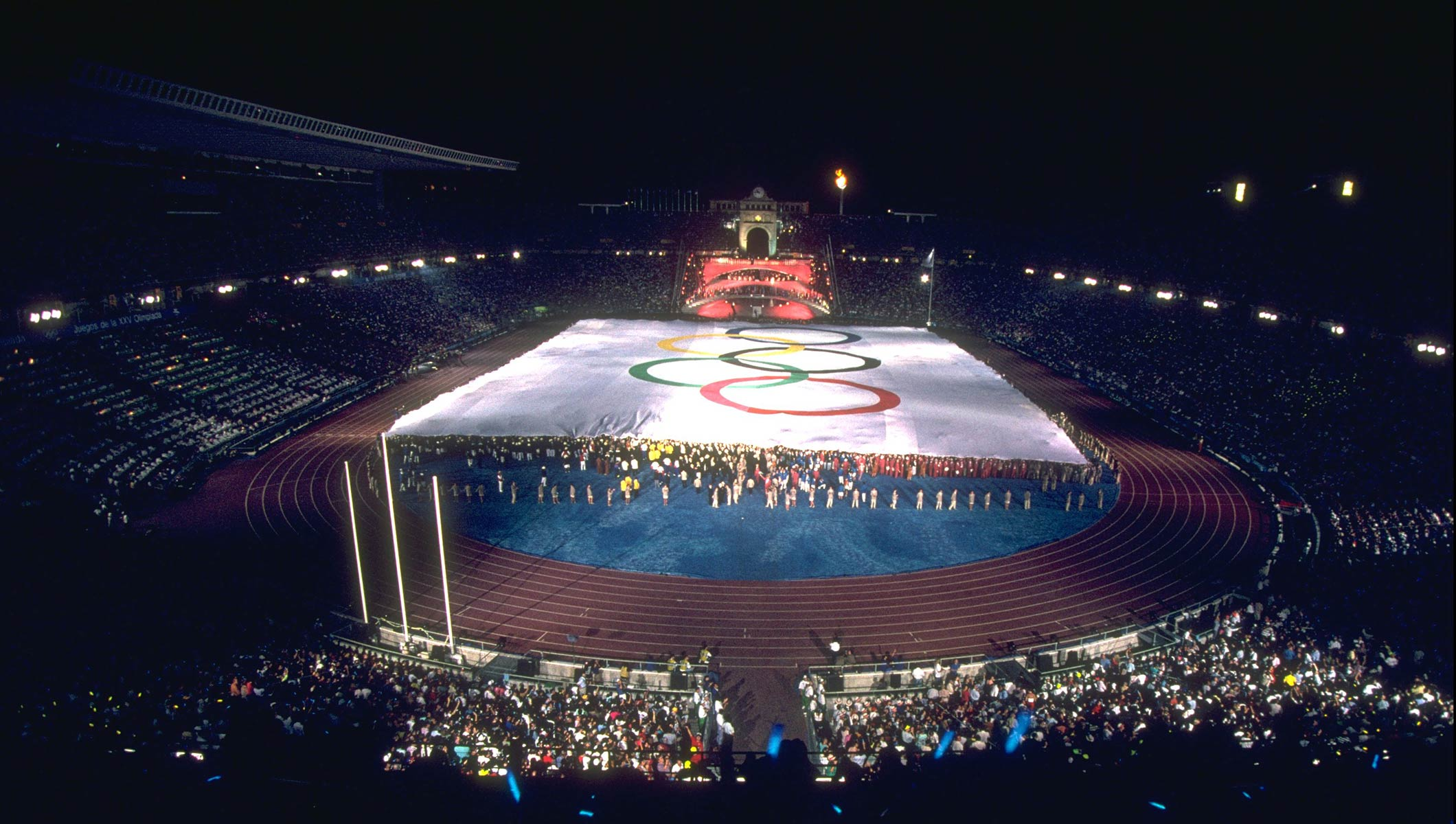 Bercelona 1992 Opening Ceremony