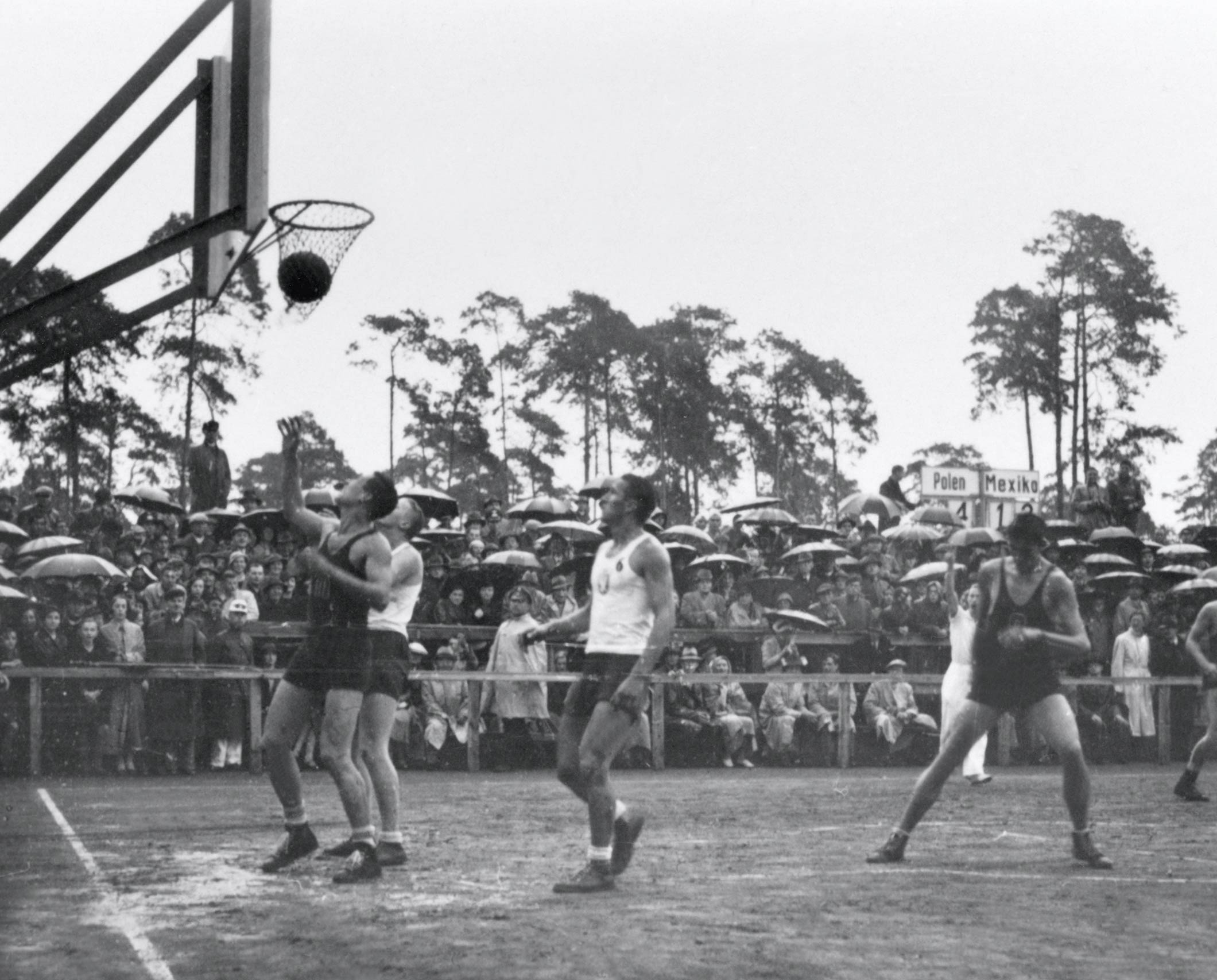 Berlin 1936 Basketball