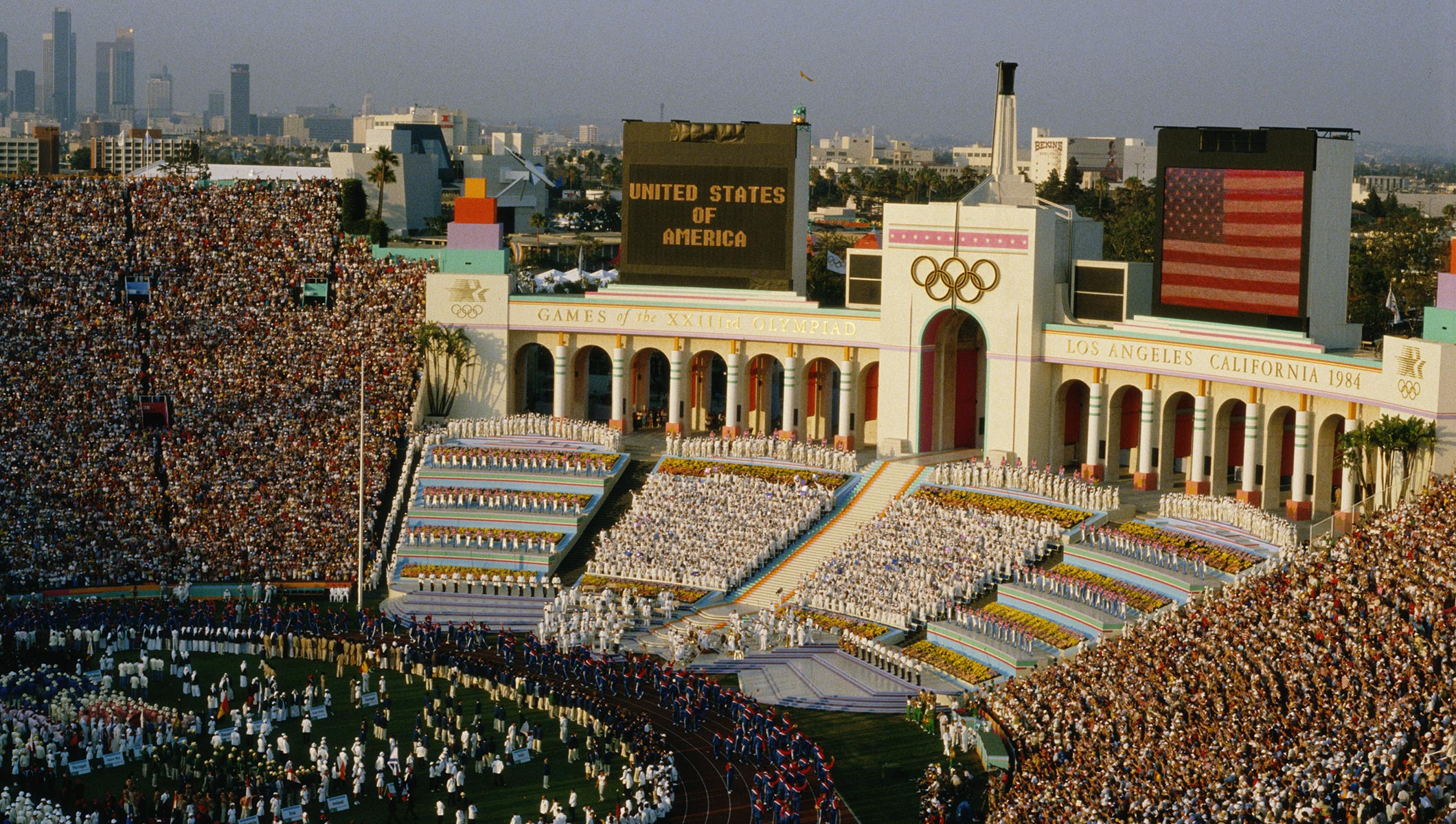 Los Angeles – Olympic City – 1984 (Archival Footage)