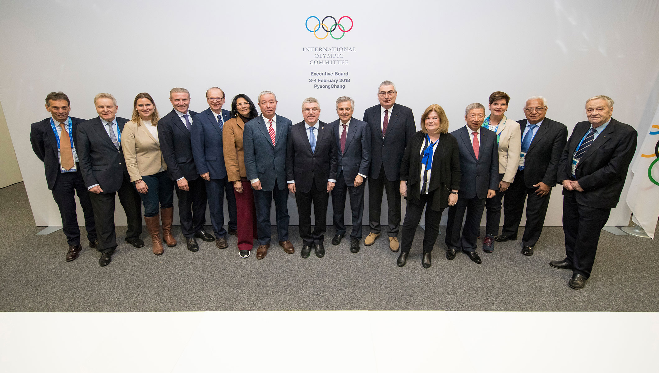 IOC Executive Board Meeting - PyeongChang