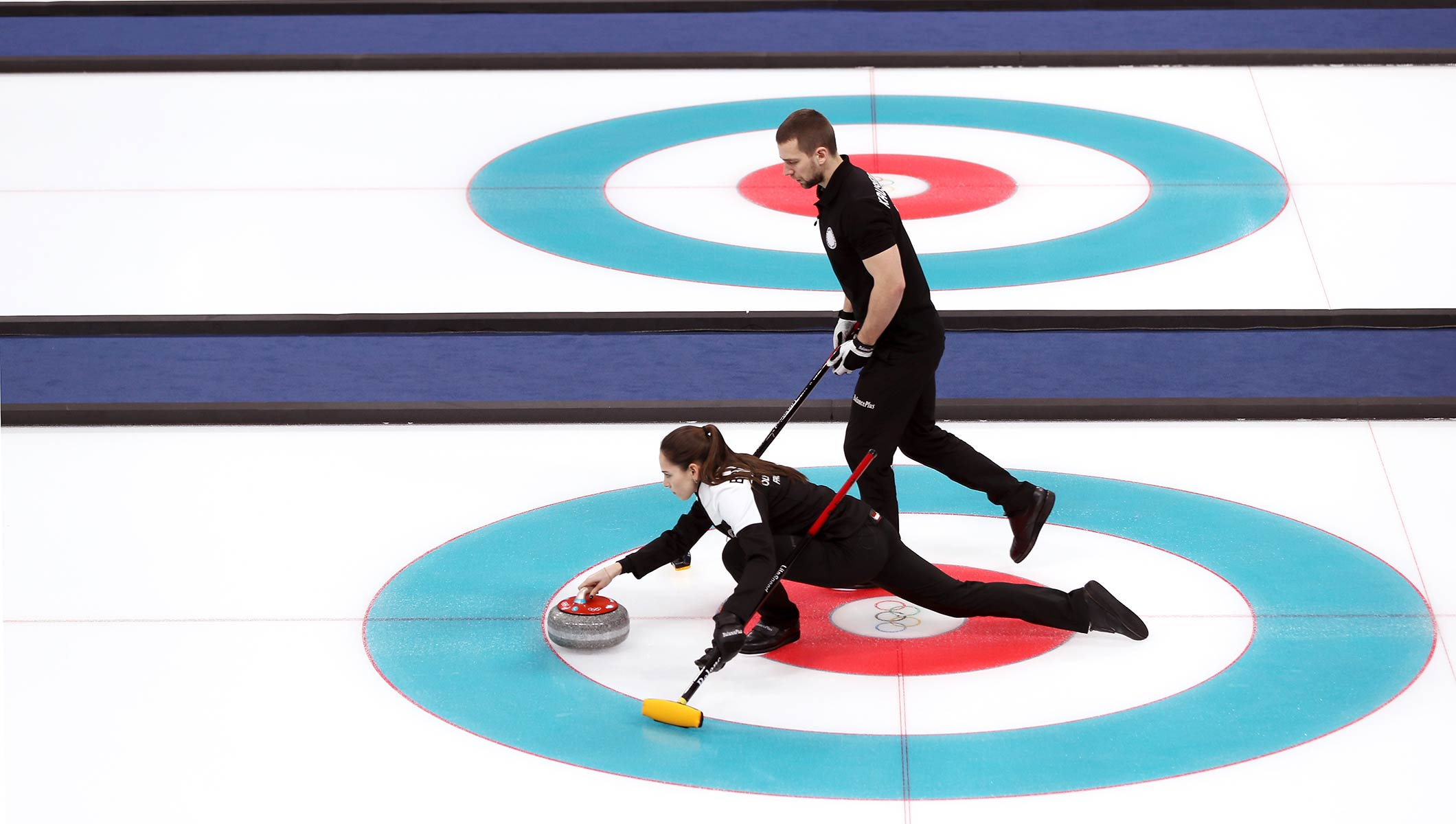 Mixed curling bronze medal match