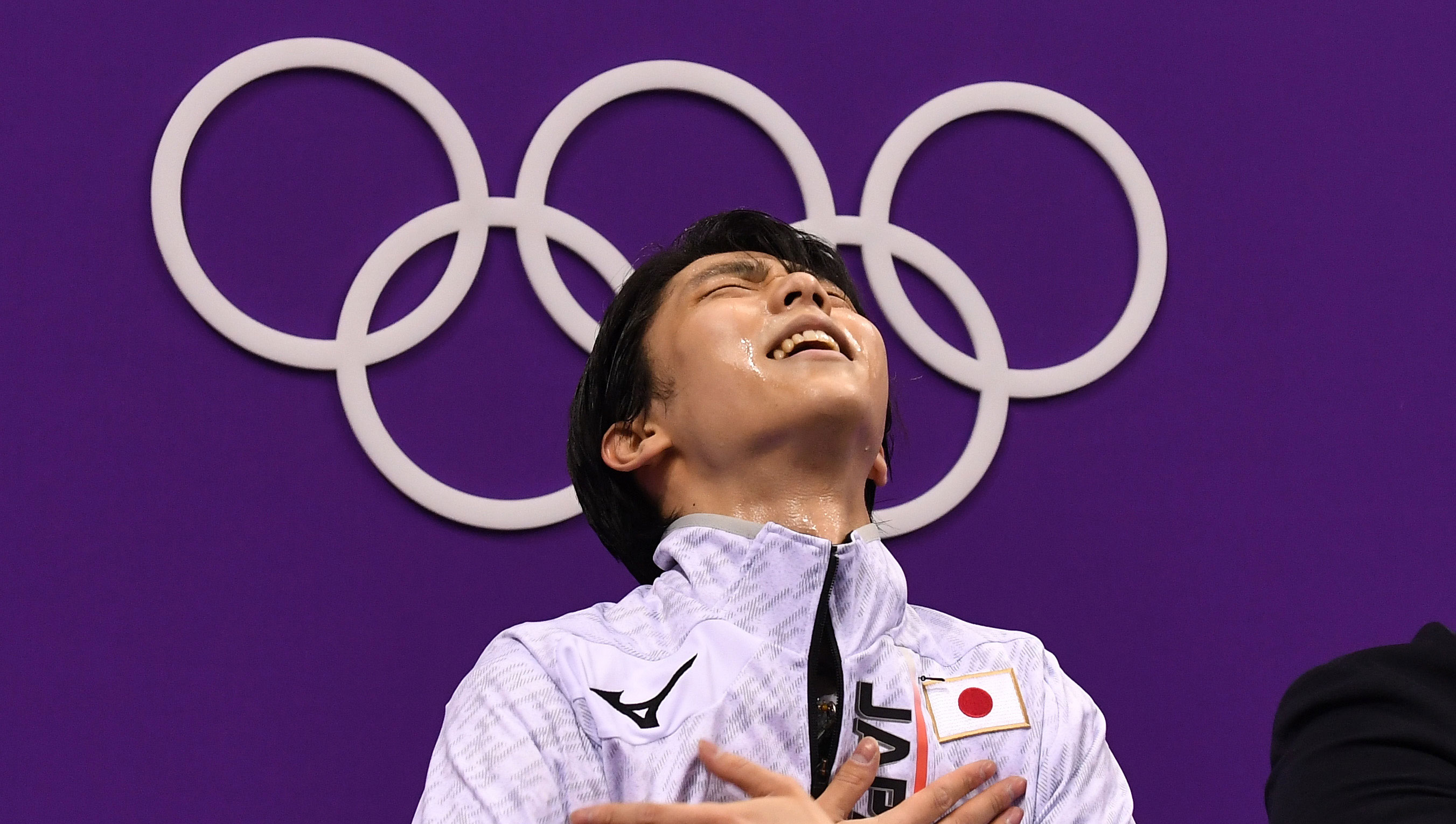 Hanyu wins the thousandth Olympic Winter Games gold medal event