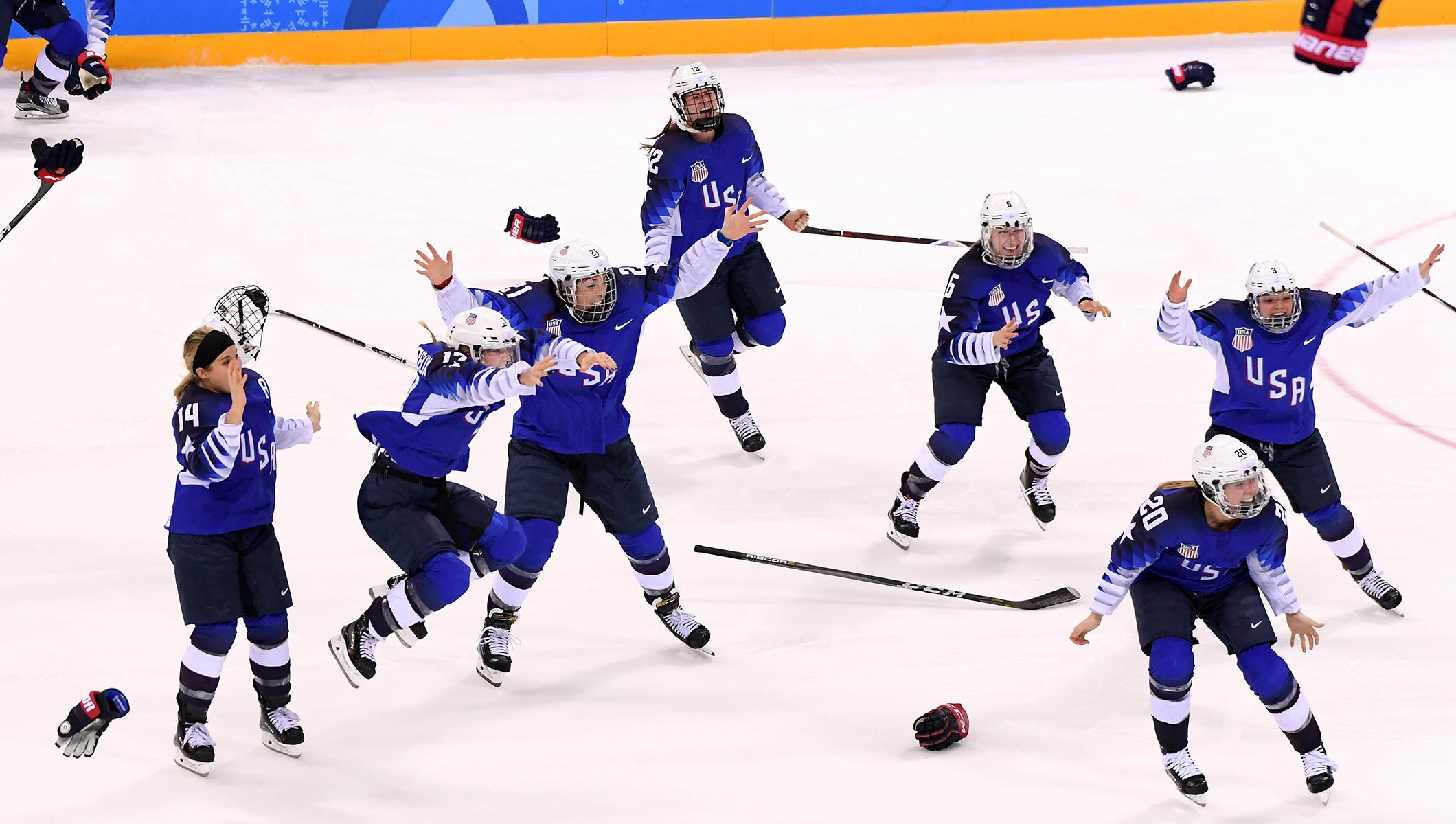 USA win shootout to claim women's ice hockey gold