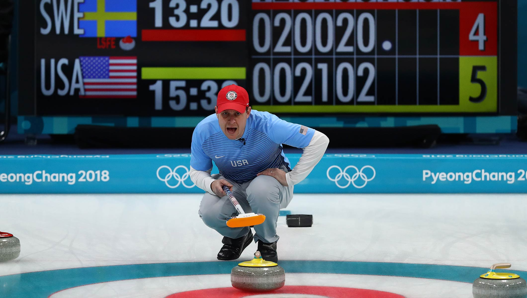 Curling At The 2020 Olympic Winter Games.Curling