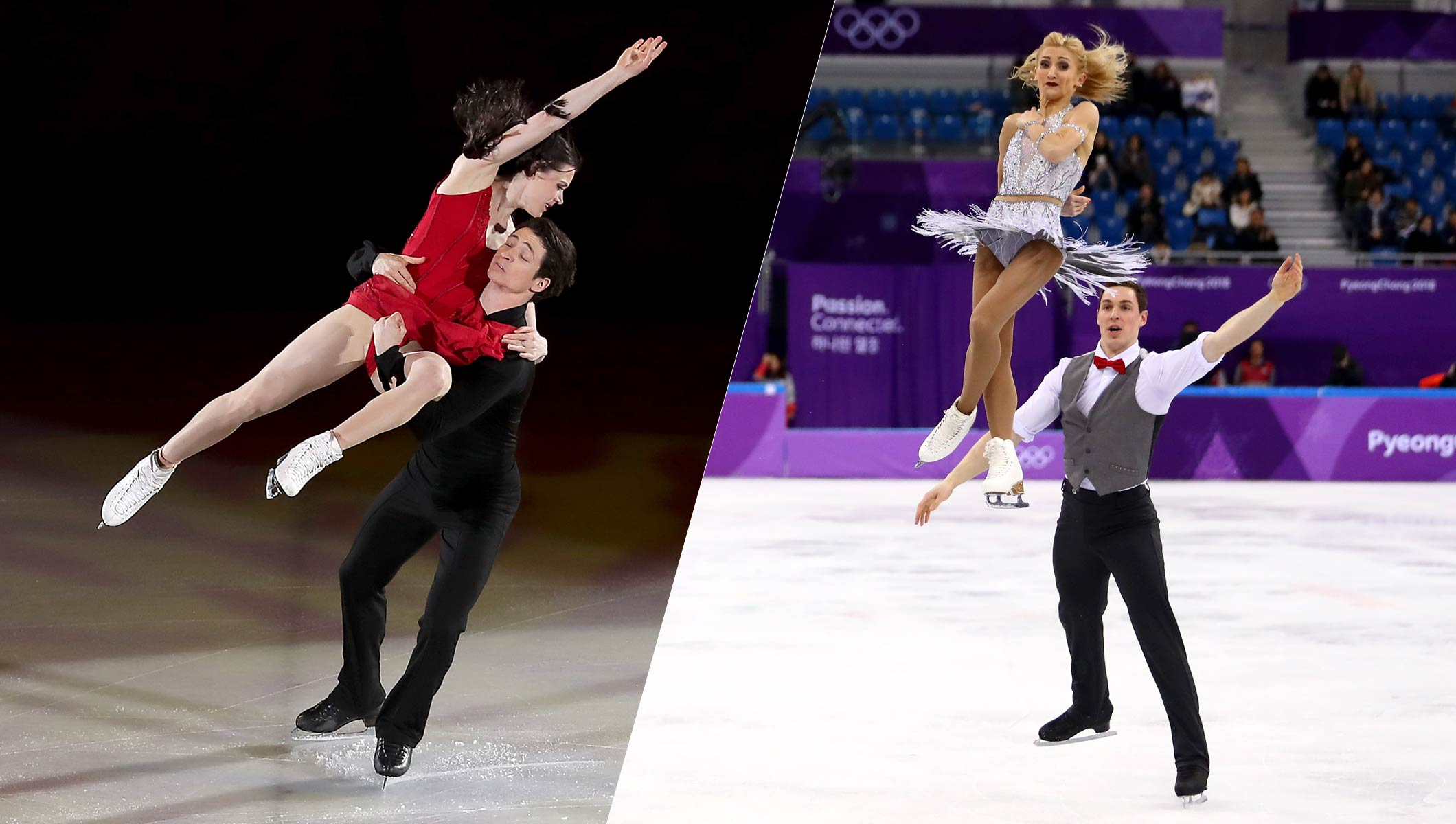 Which Pairs Figure Skating And Ice Dancing Couples Are: Virtue And Moir Strike Double Gold, Savchenko And Massot