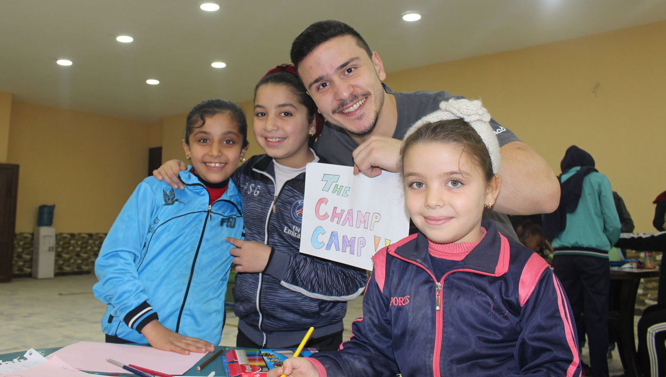 Young Change-Maker's Champ Camp providing opportunities for refugees