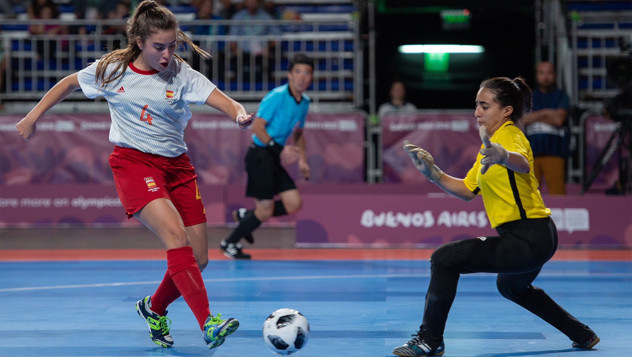 Goals galore as women s futsal takes historic step - Olympic News ddcbe816ee