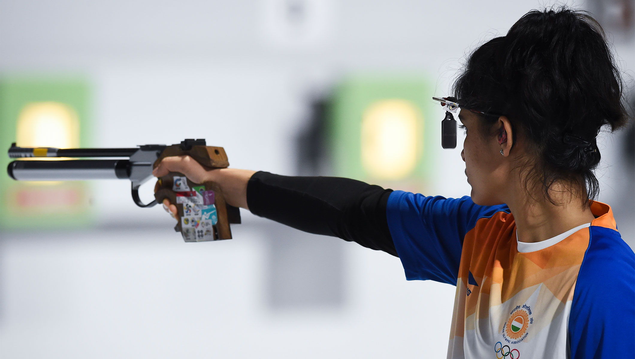 India S Bhaker Strikes Shooting Gold Olympic News