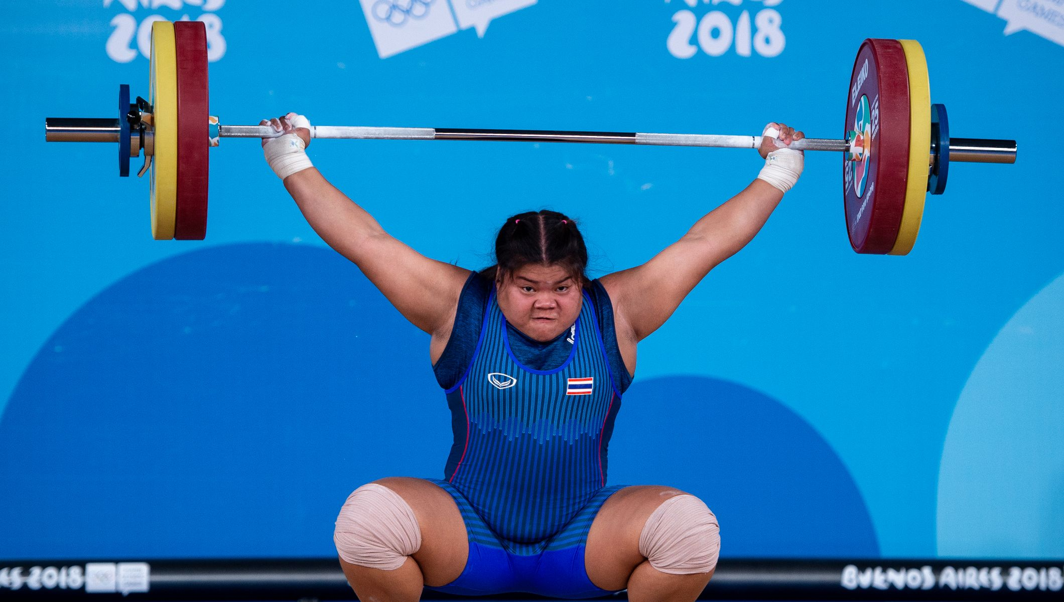 khamhaeng dominates and yousefi seals stunning weightlifting win