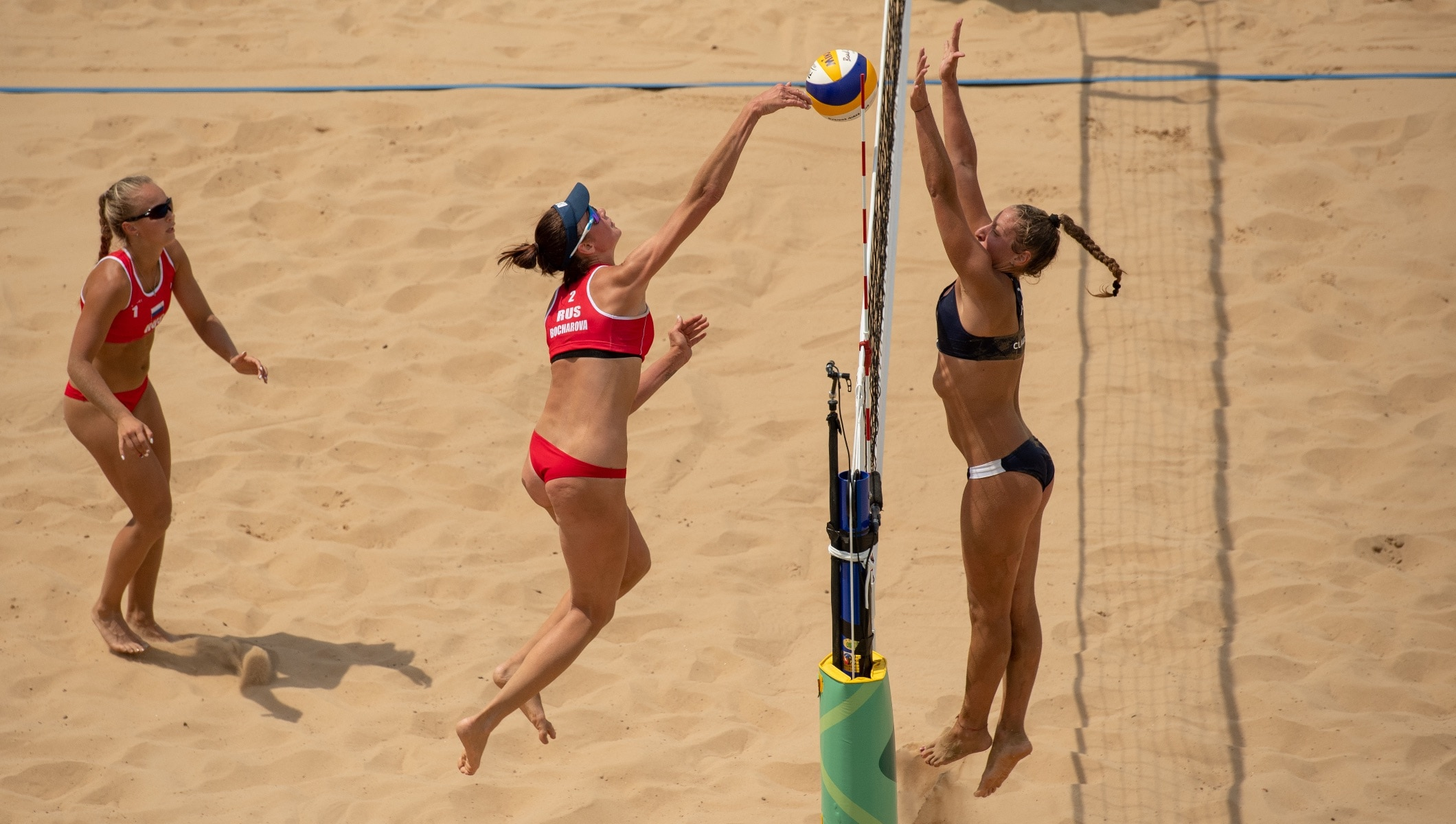 Beach volleyball golds go to Sweden and Russia - Olympic News