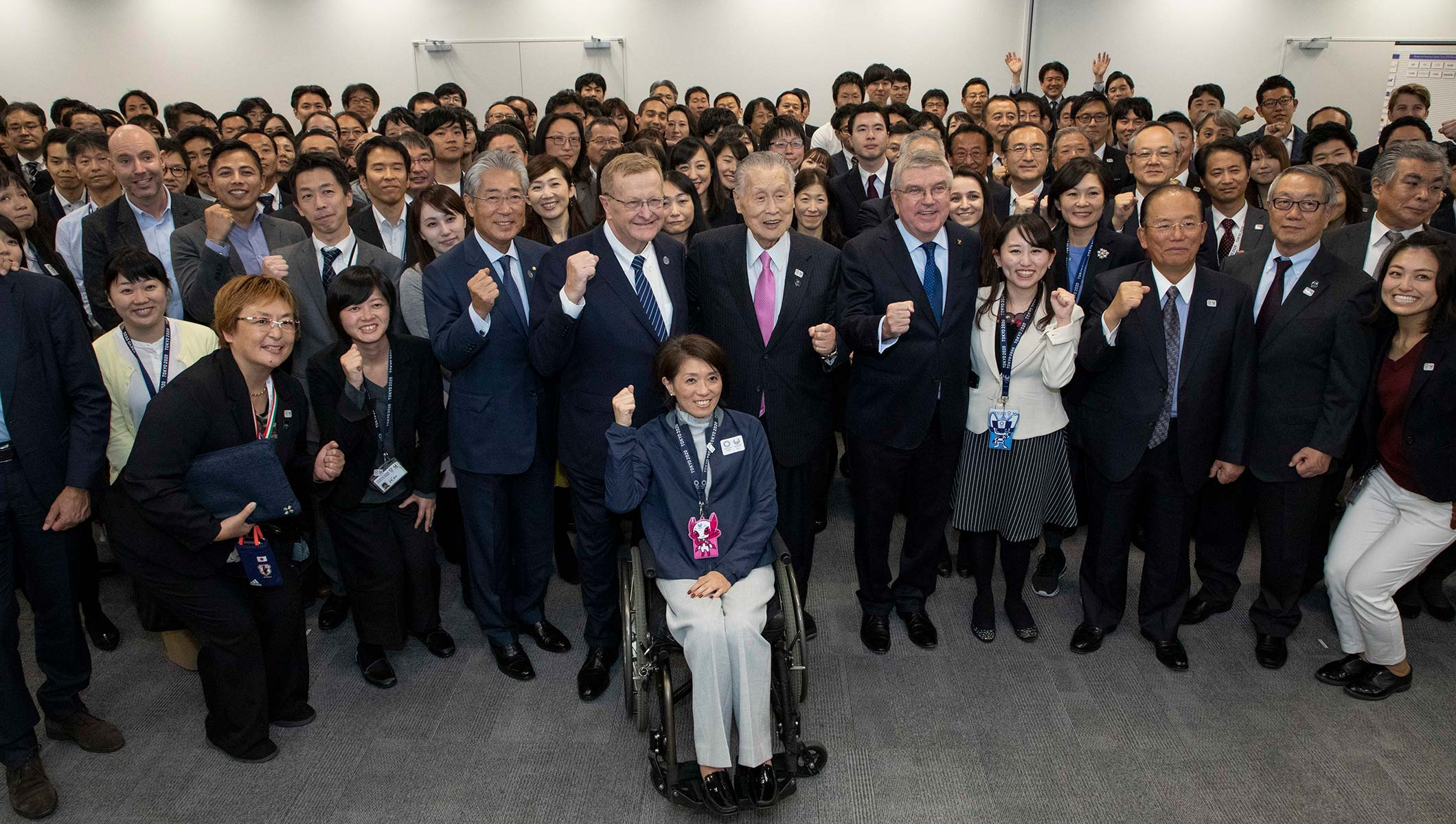 IOC President visits Tokyo 2020 and praises progress of preparations for Olympic Games