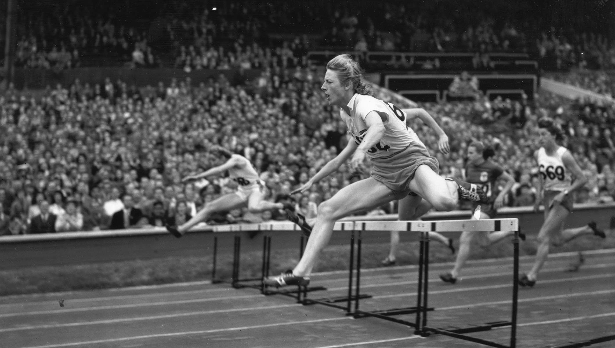 Fanny Blankers-Koen 4 Olympic medals