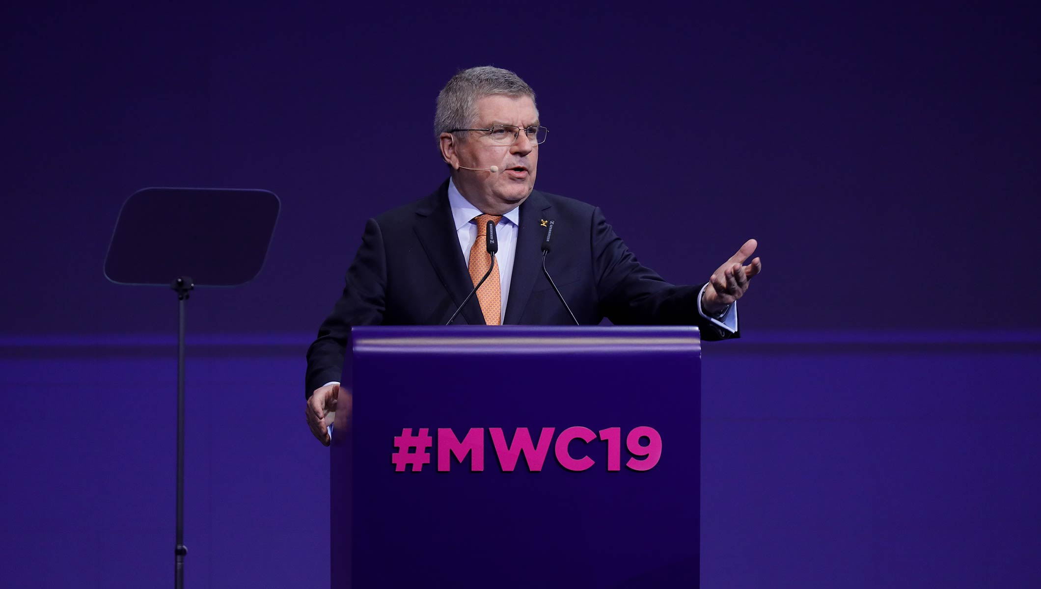 IOC President Bach outlines digital future of the Olympic Games