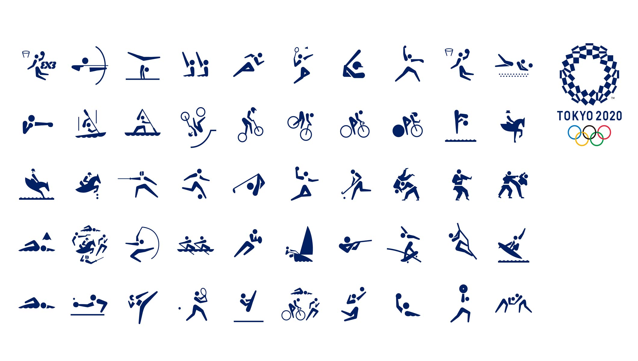 Pyeongchang 2020 Olympic Winter Games Schedule.Tokyo 2020 Unveils Games Pictograms Olympic News