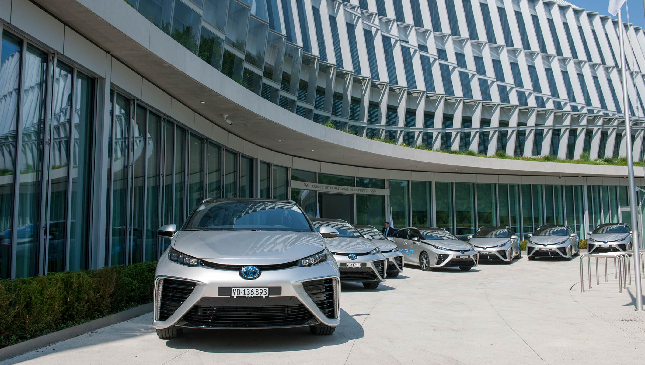 IOC receives delivery of zero-emission hydrogen fuel cell vehicles