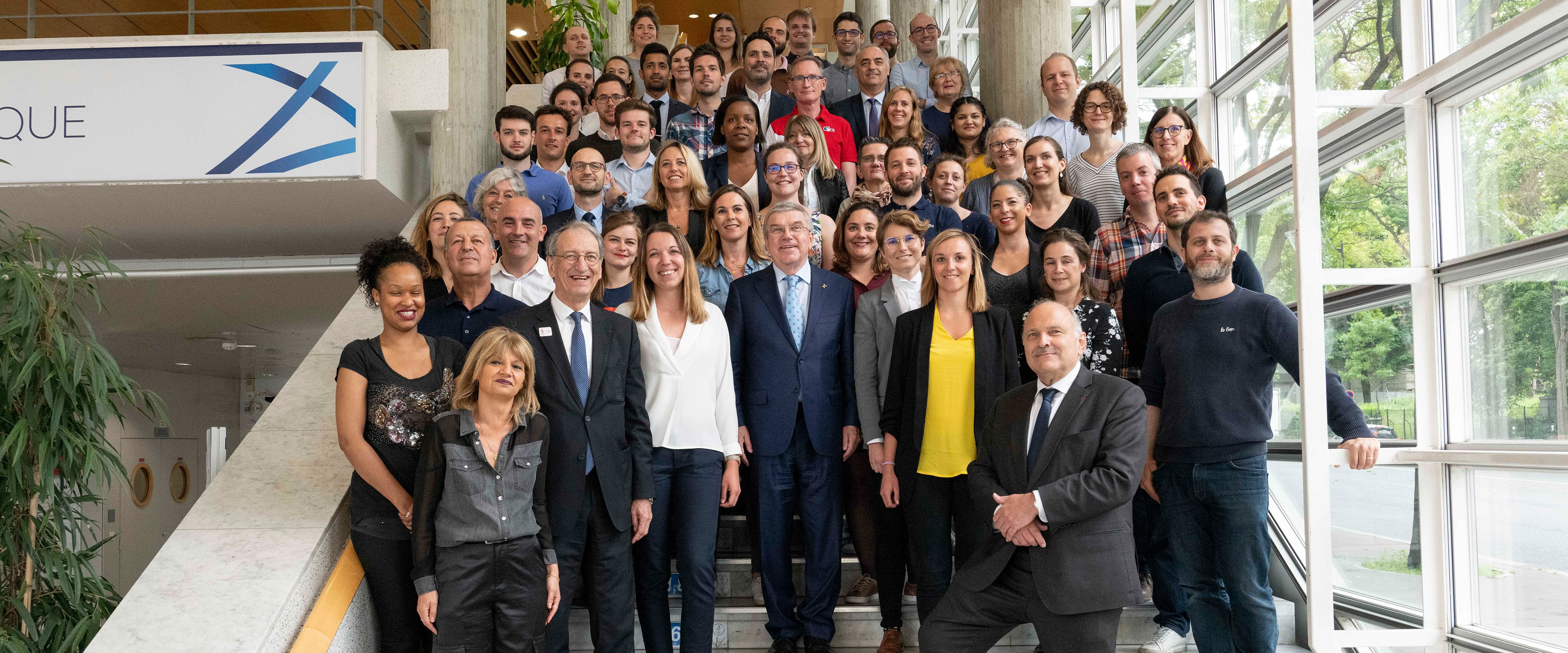 IOC President in Paris