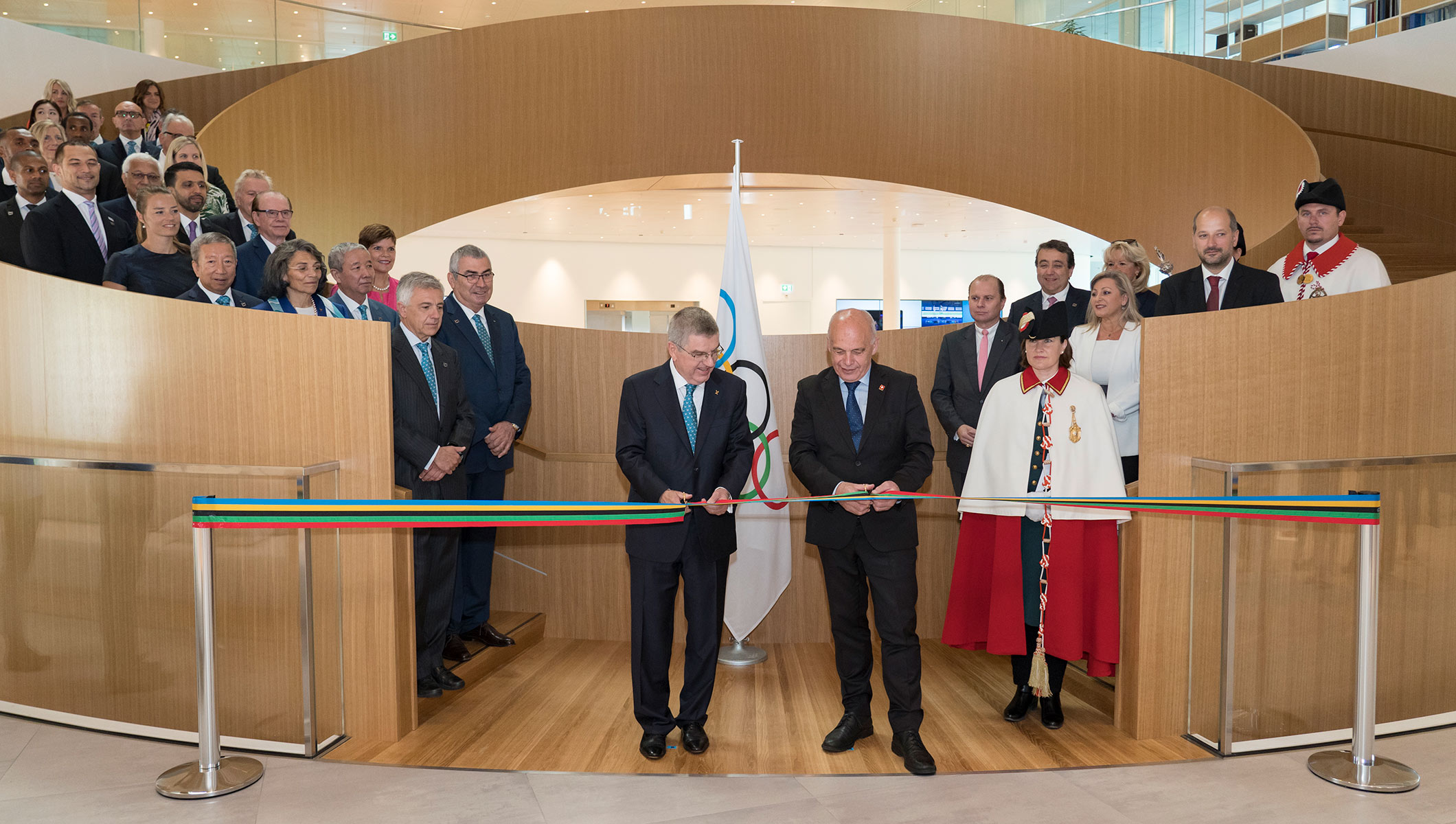 Official Opening of the Olympic House