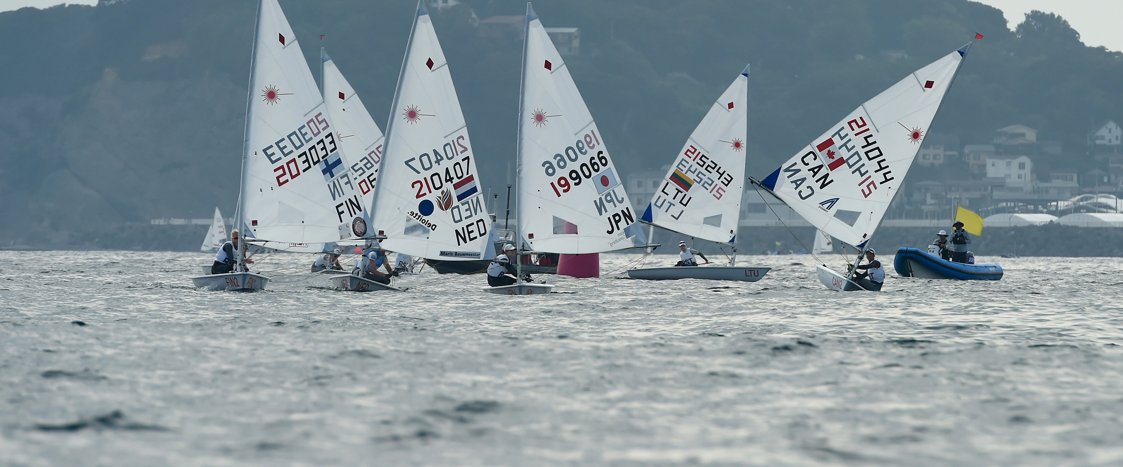 Top News Events Of 2020.Top Class Field Ramps Up Excitement At Tokyo 2020 Sailing Test Event